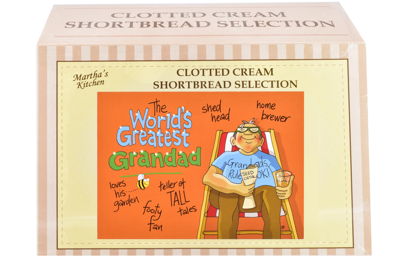 "450g Biscuit Selection ""Greatest Grandad"" Postcard G/B"
