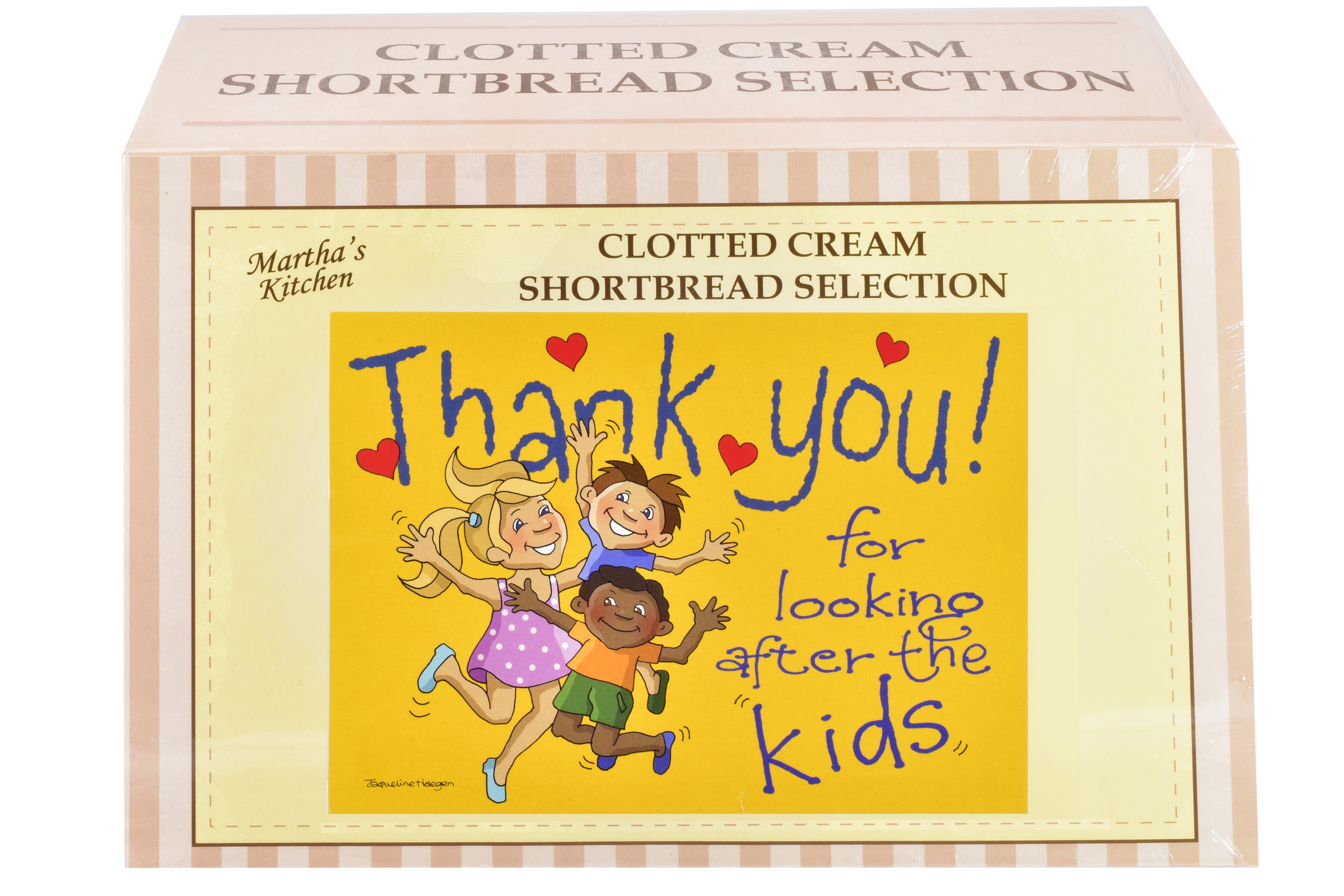 """450g Biscuit Selection """"Kids"""" Postcard Gift Box"""