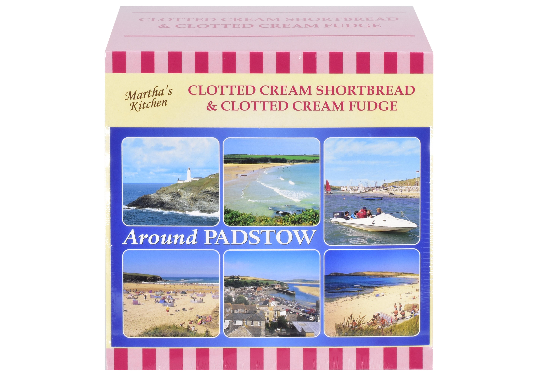250g C/C Shortbread & C/C Fudge Postcard Gift Box