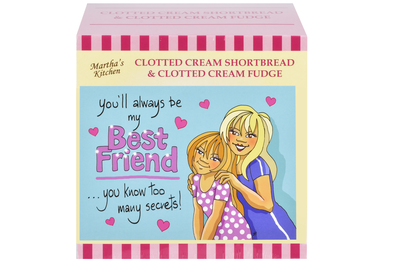 "250g C/C Shortbread & C/C Fudge ""Best Friend"" P/C G/B"