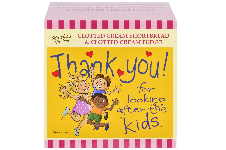 "250g C/C Shortbread & C/C Fudge ""Kids"" Postcard Gift Bx"
