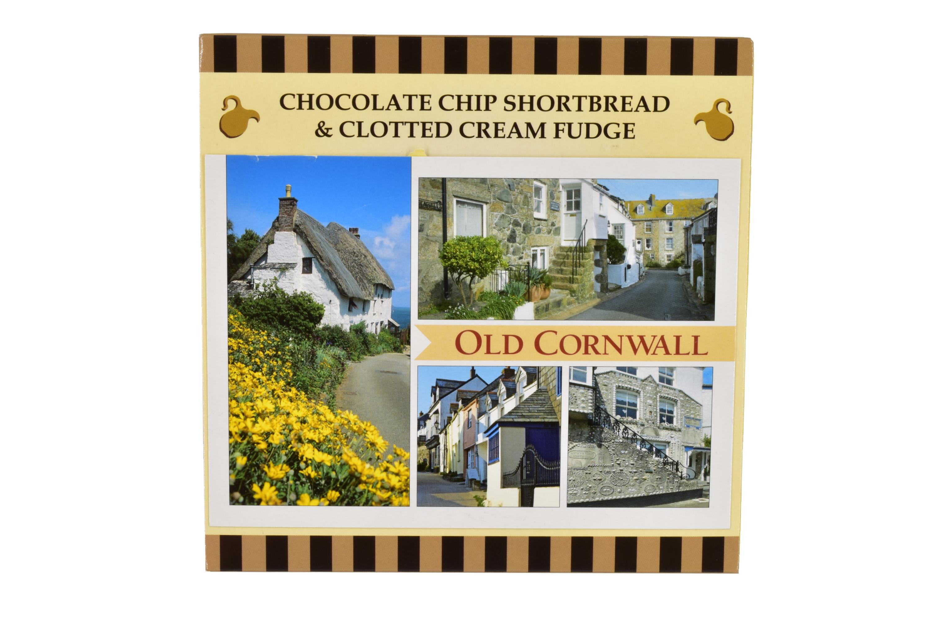 250g Choc C/C Shortbread & C/C Fudge Postcard Gift Box