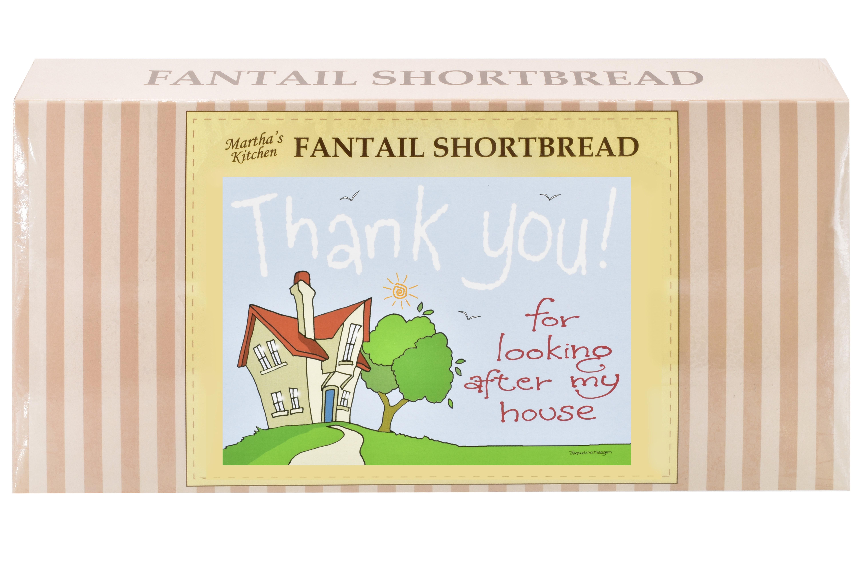 "250g Fantail S/Bread & ""Home"" Postcard Gift Box"