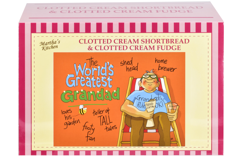 """400g C/C Shortbread & C/C Fudge """"Greatest Grandad"""" G/B"""