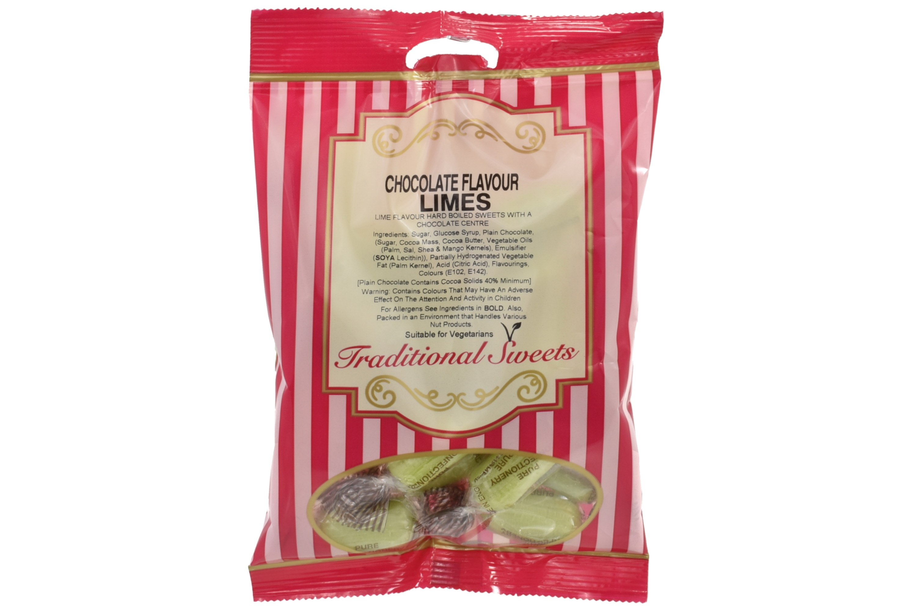 150g Chocolate Limes - Prepack