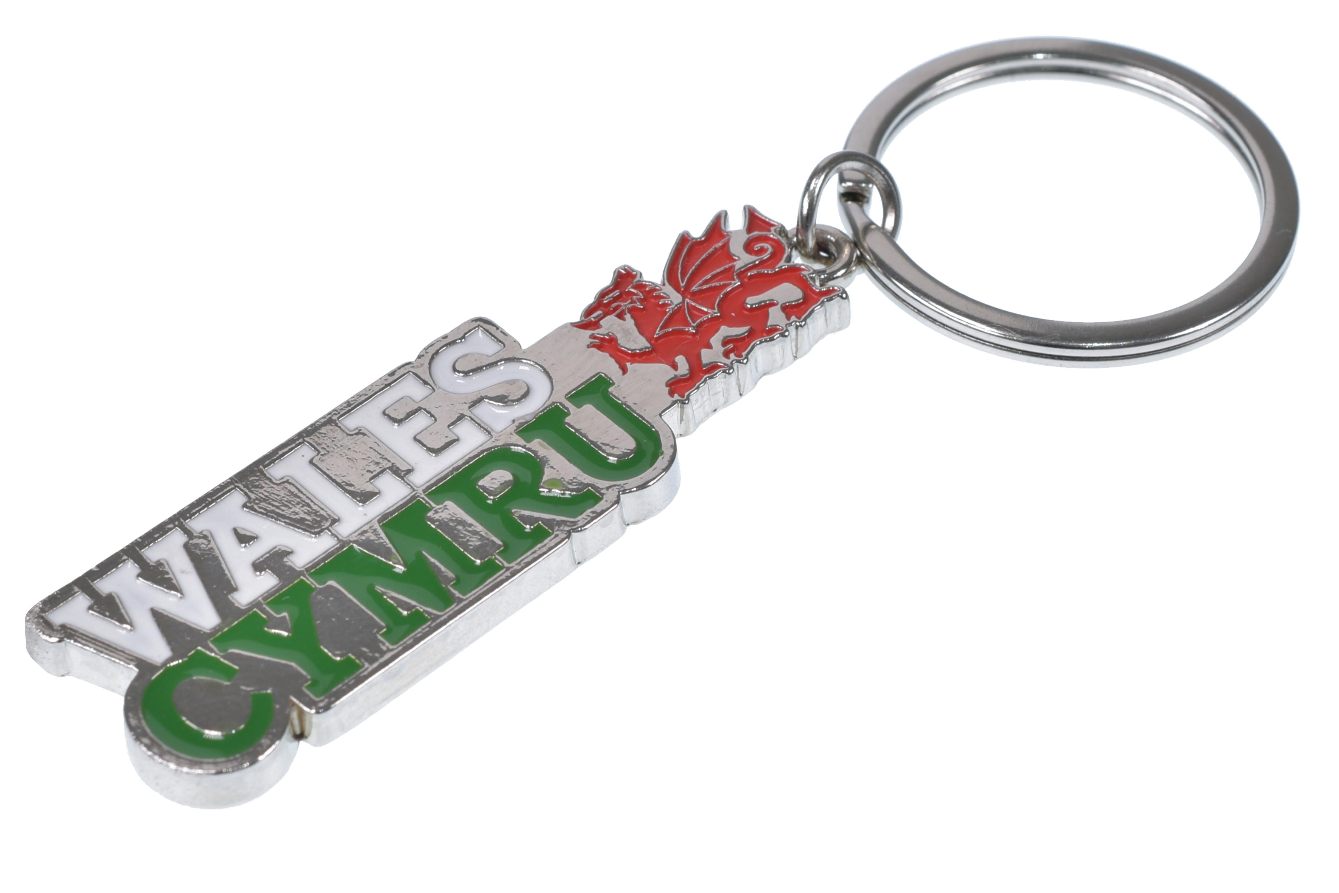 Metal Keyring Wales/Cymru