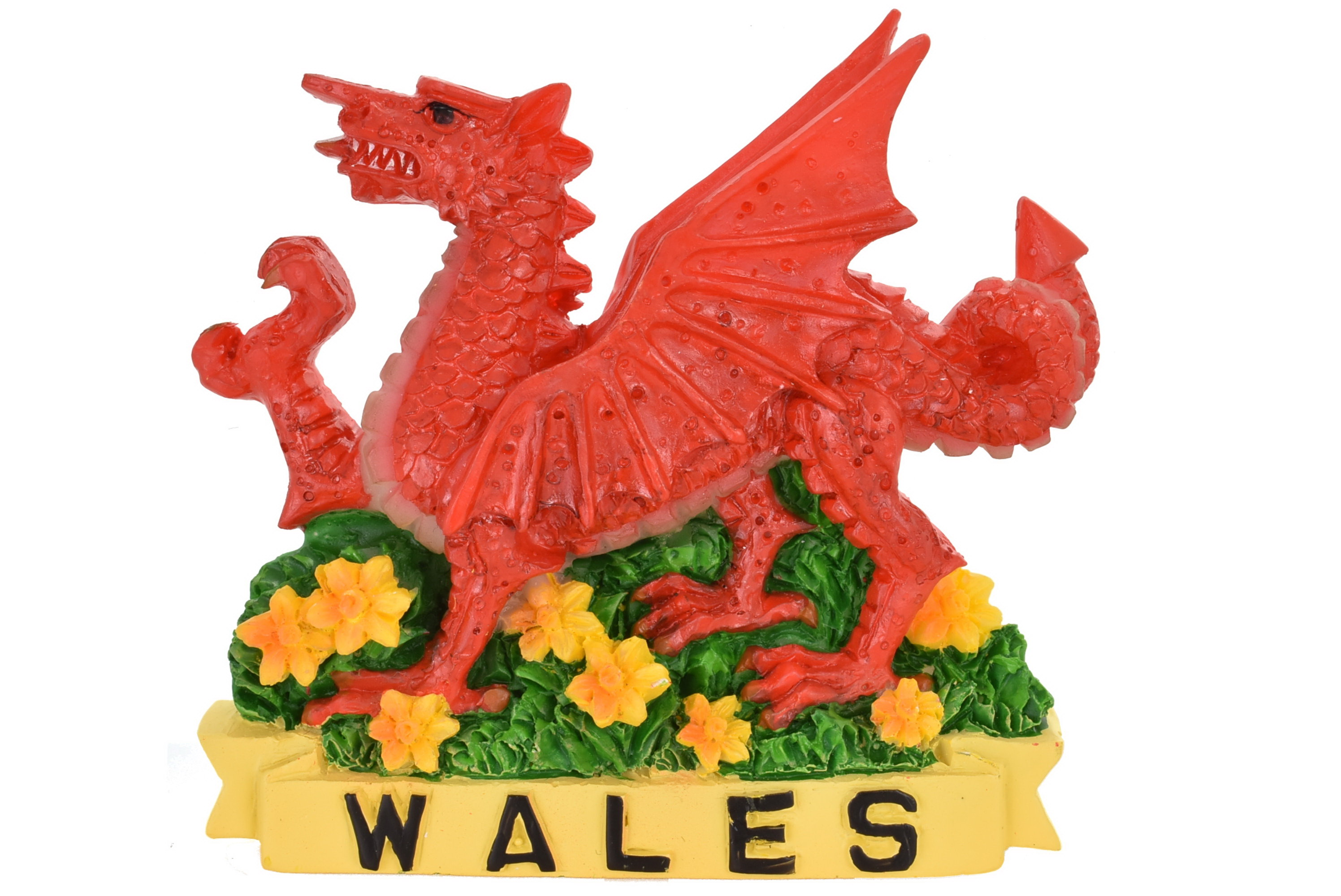 Wales Dragon Resin Magnet
