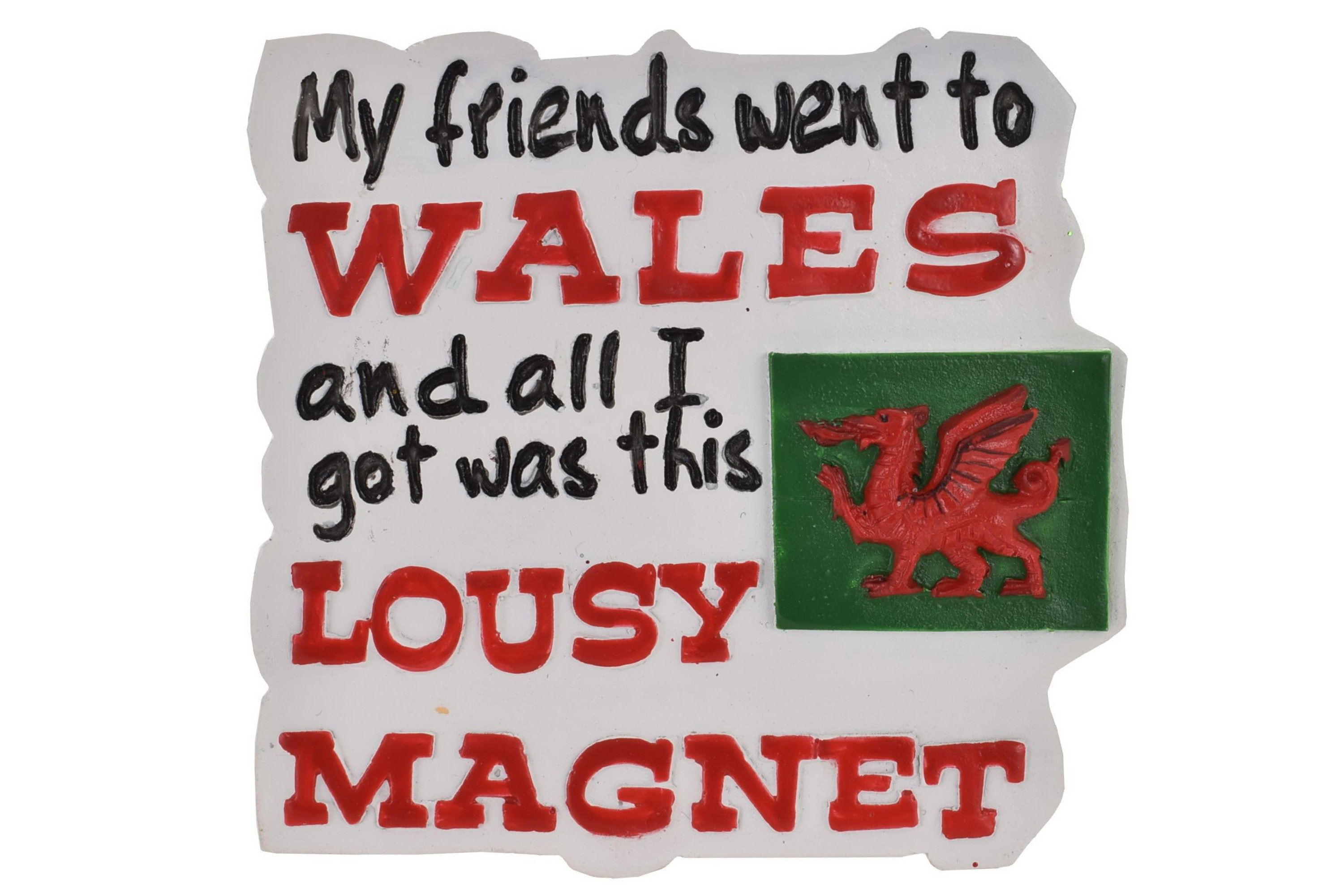 Wales Resin Magnet Lousy Design