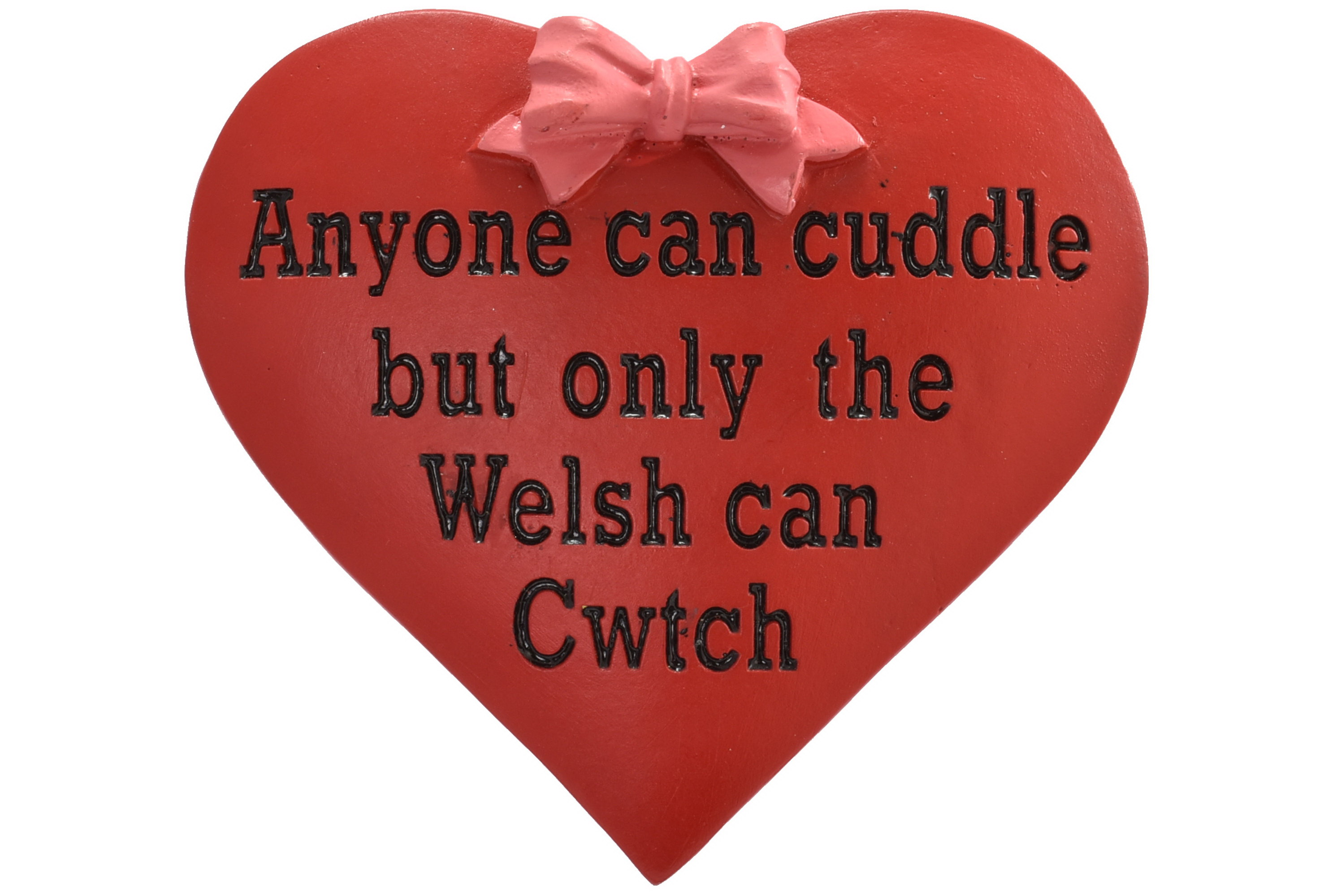 Wales Cwtch Heart Resin Magnet