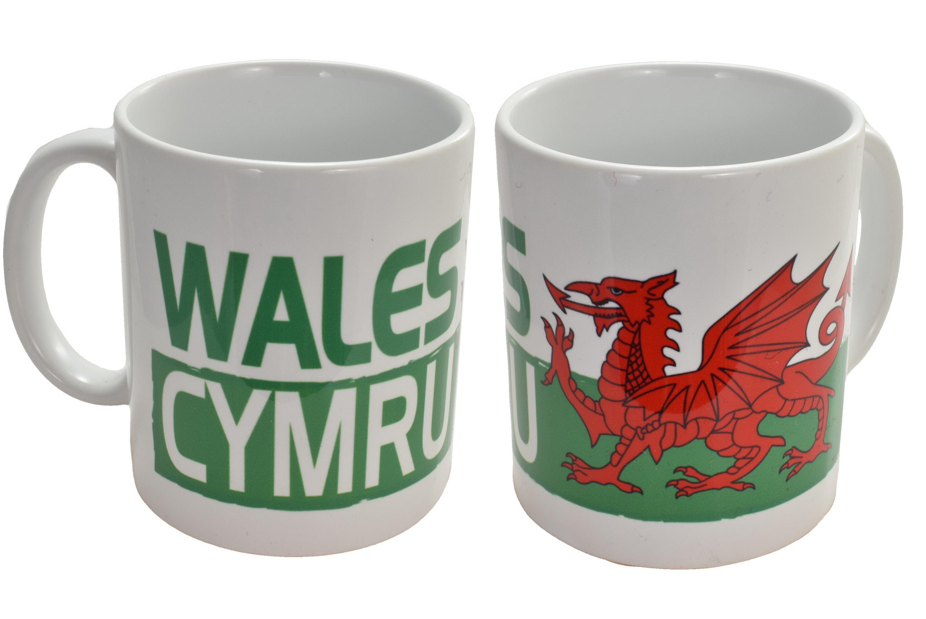 Ceramic Mug Wales Design