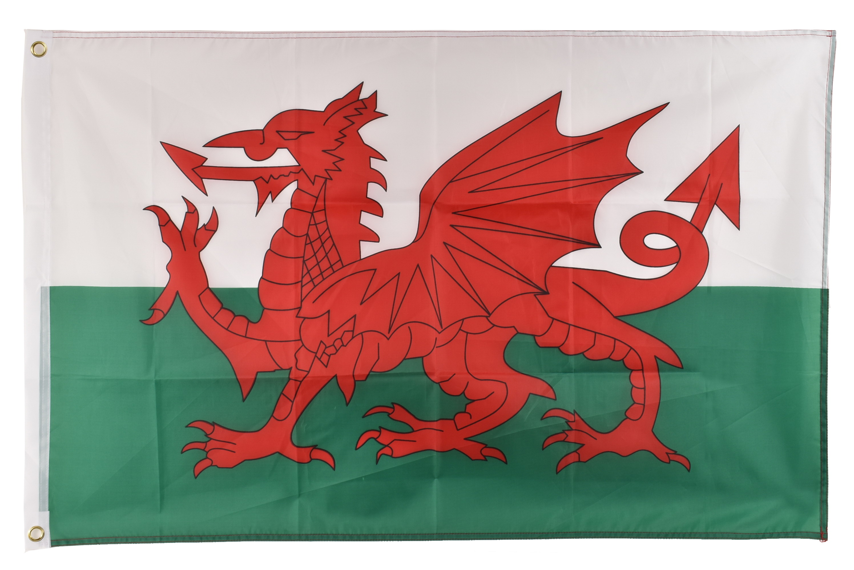 5' x 3' Wales Flag With Metal Grommets