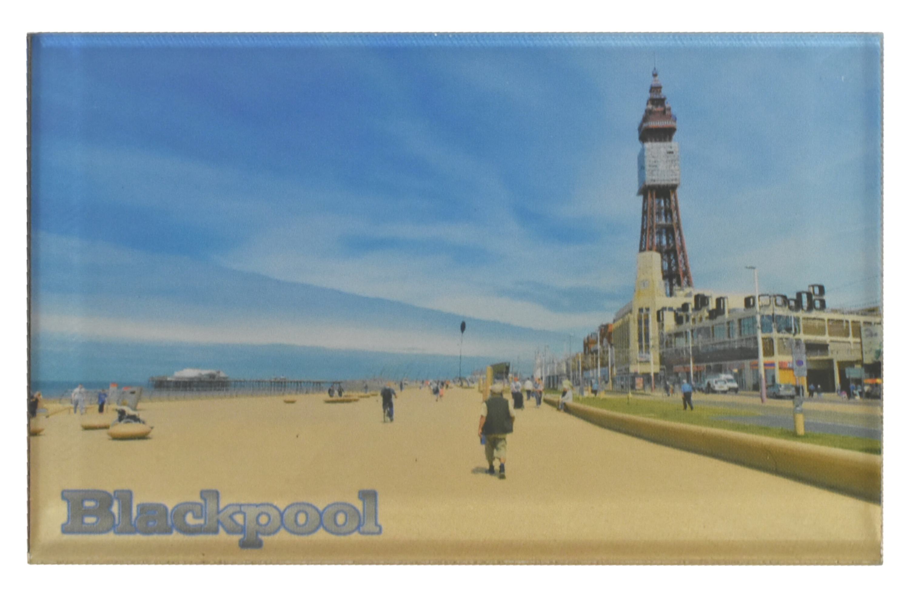 Blackpool Tower Acrylic Magnet