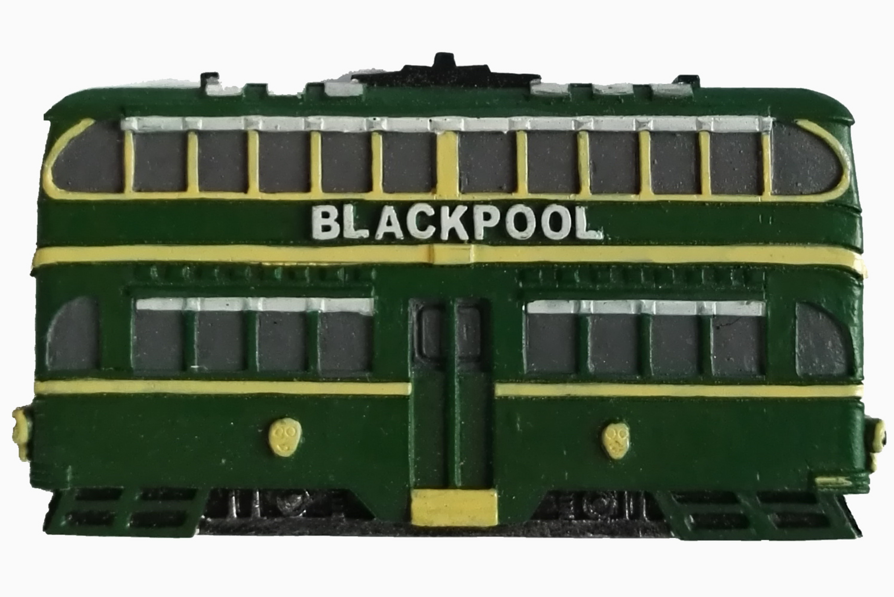 Resin Magnet Blackpool Traditional Tram