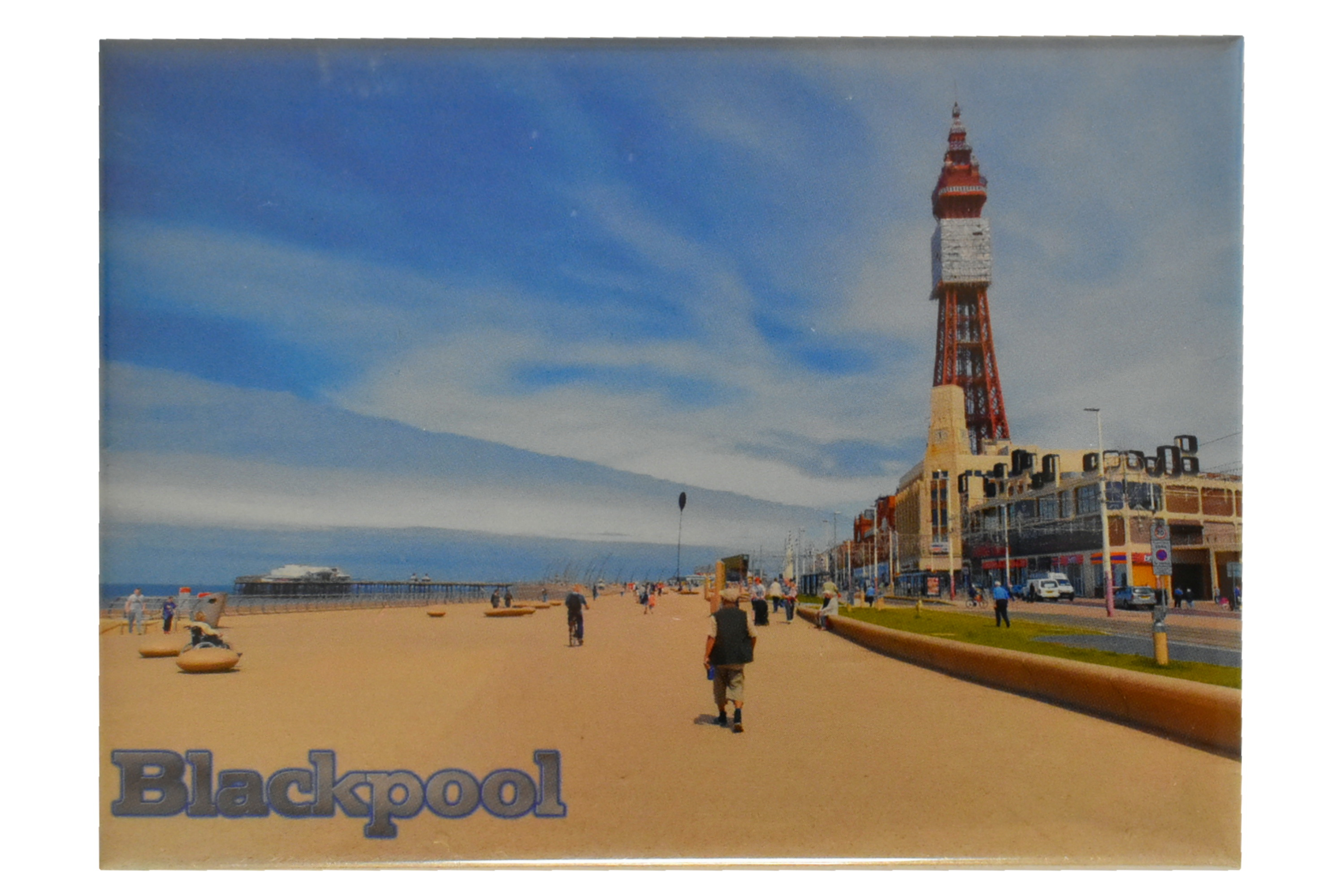 Picture Magnet Blackpool Beach