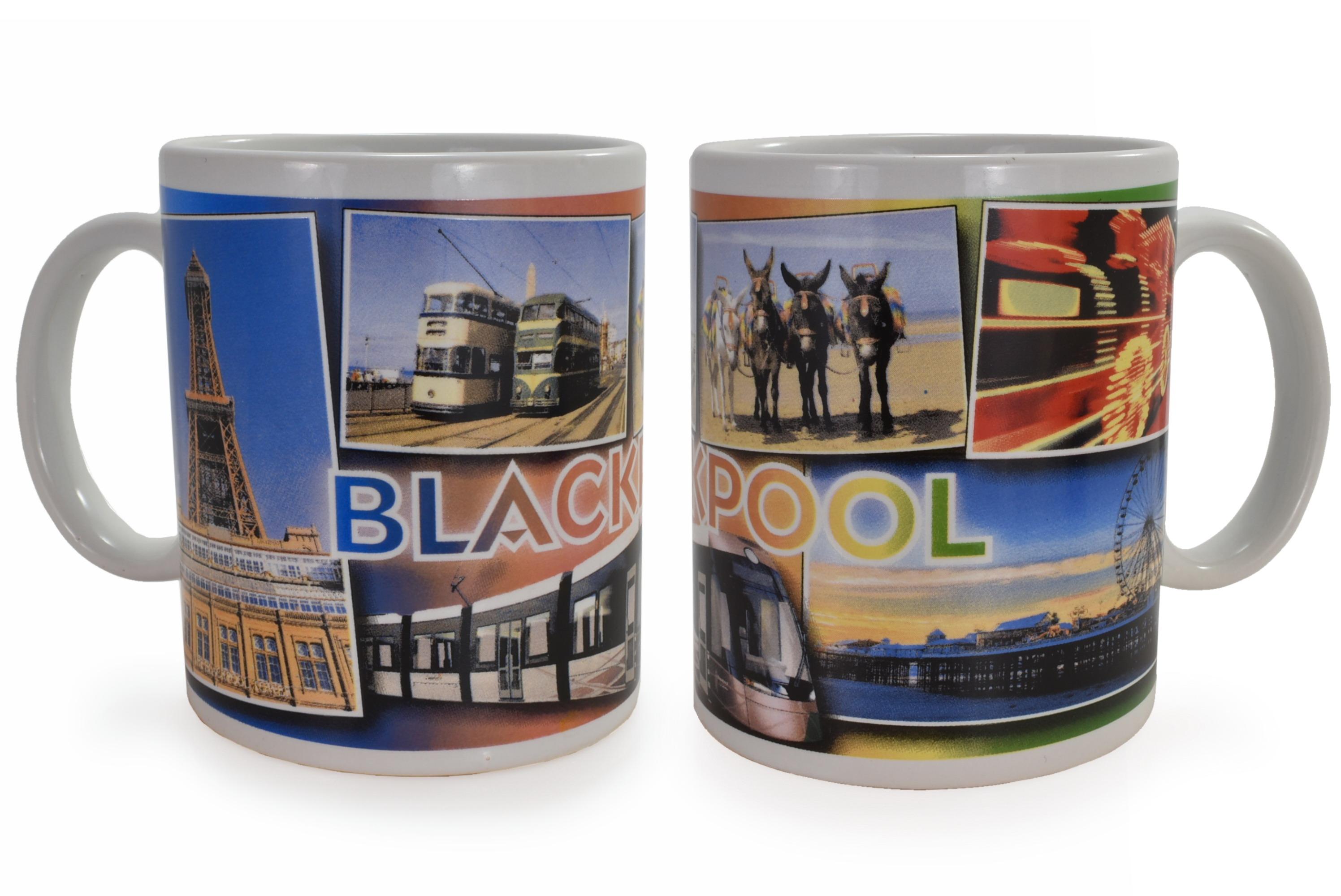 Ceramic Mug Blackpool Scenes Design