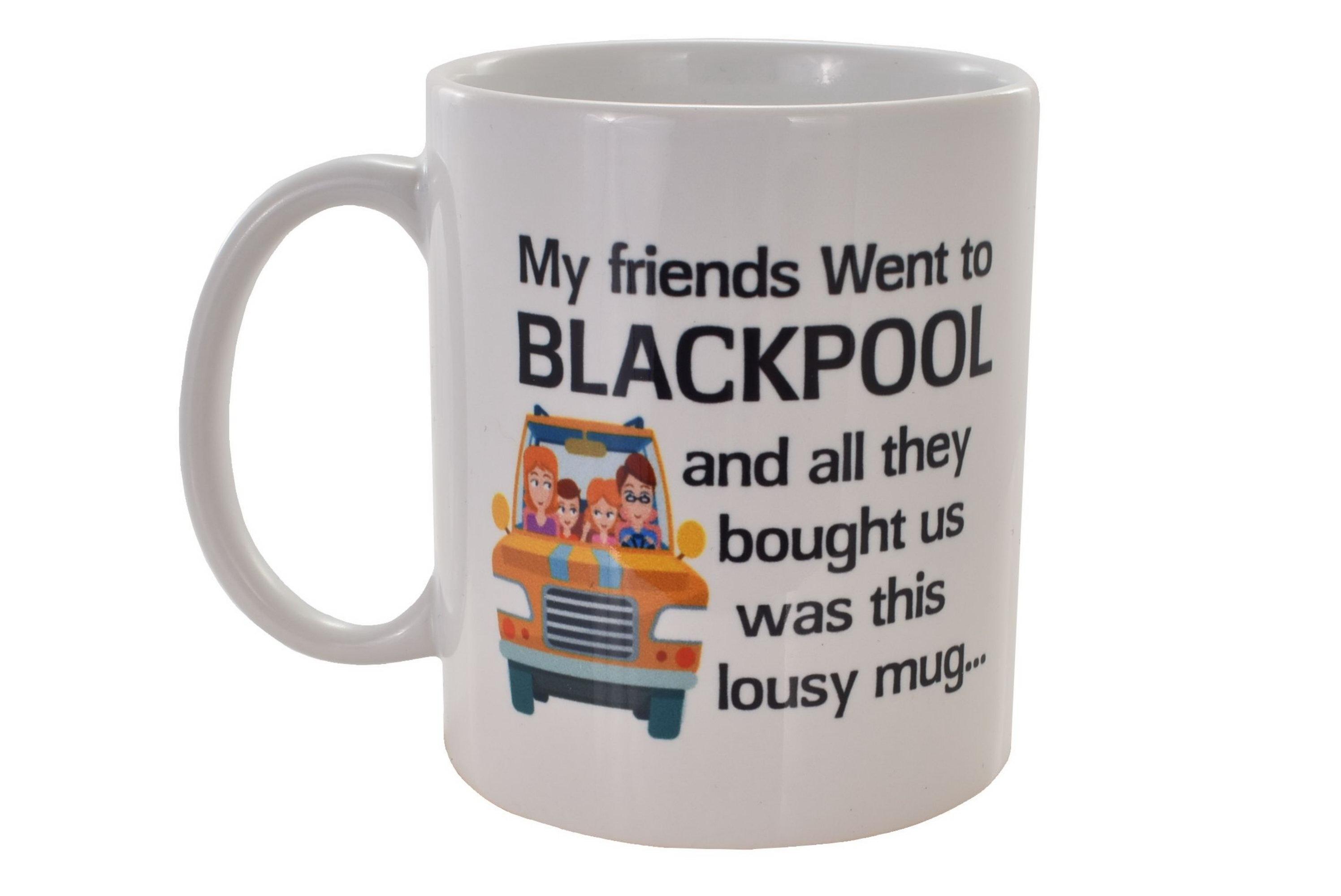 Ceramic Mug Blackpool Lousy Design