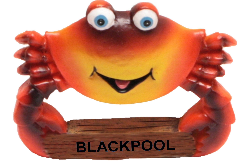Blackpool Crab Resin Magnet