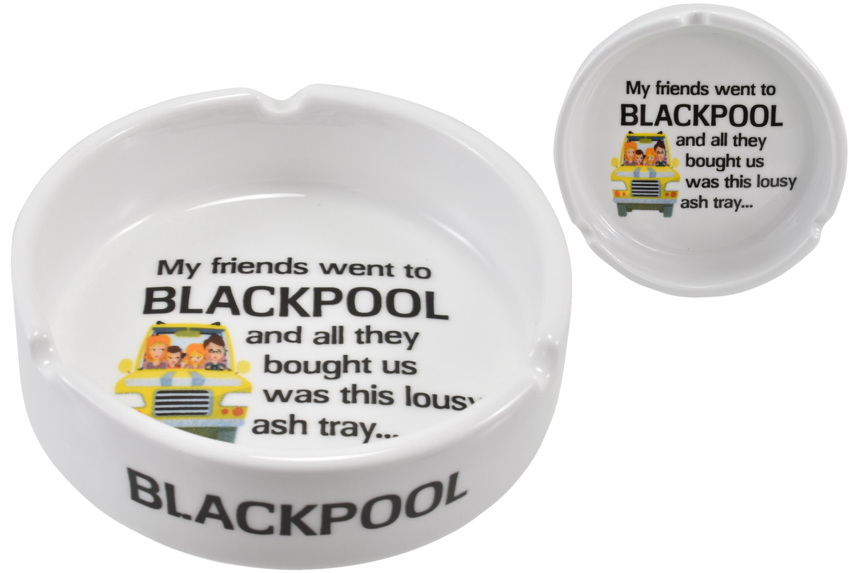 Ceramic Ashtray Blackpool Lousy 10cm