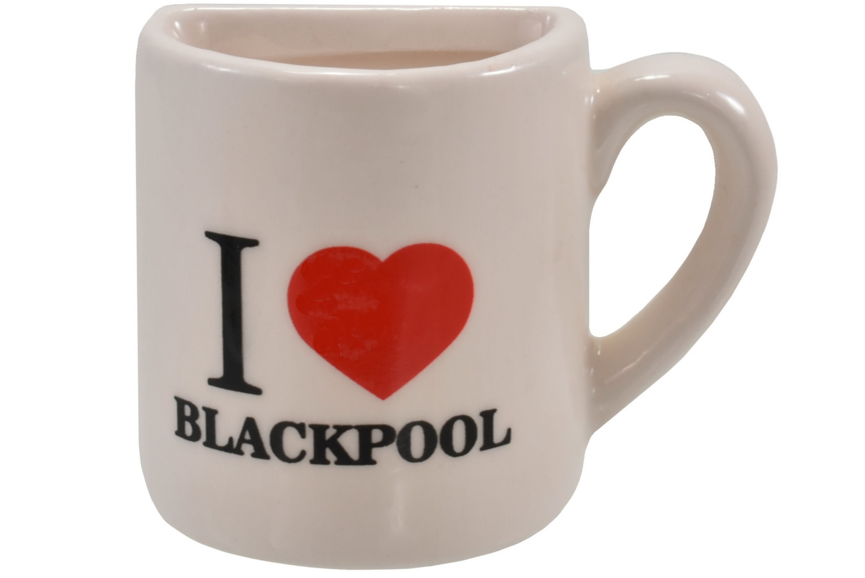 Blackpool Half Mug Magnet