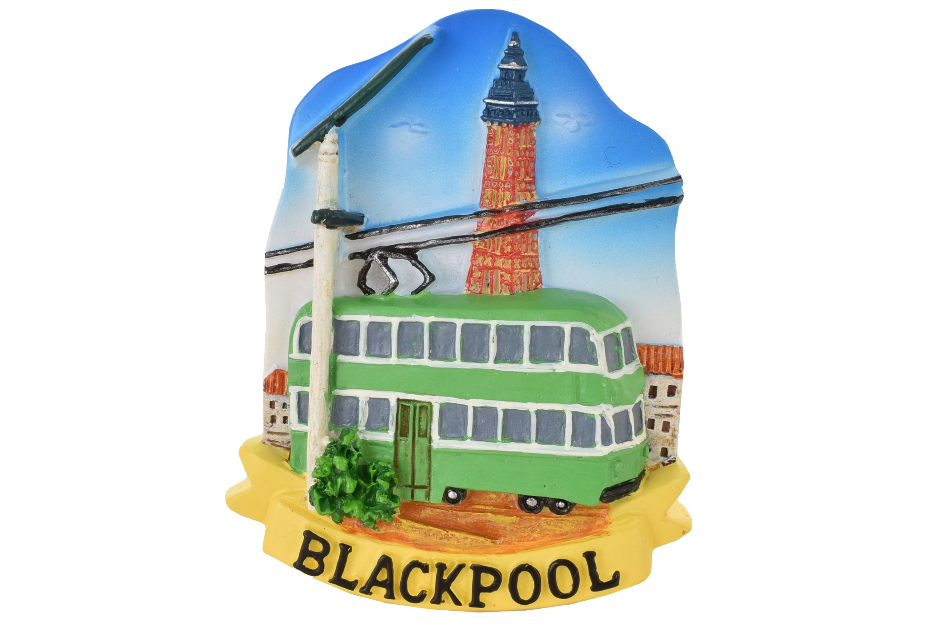 Blackpool Resin Magnet Tram/Tower