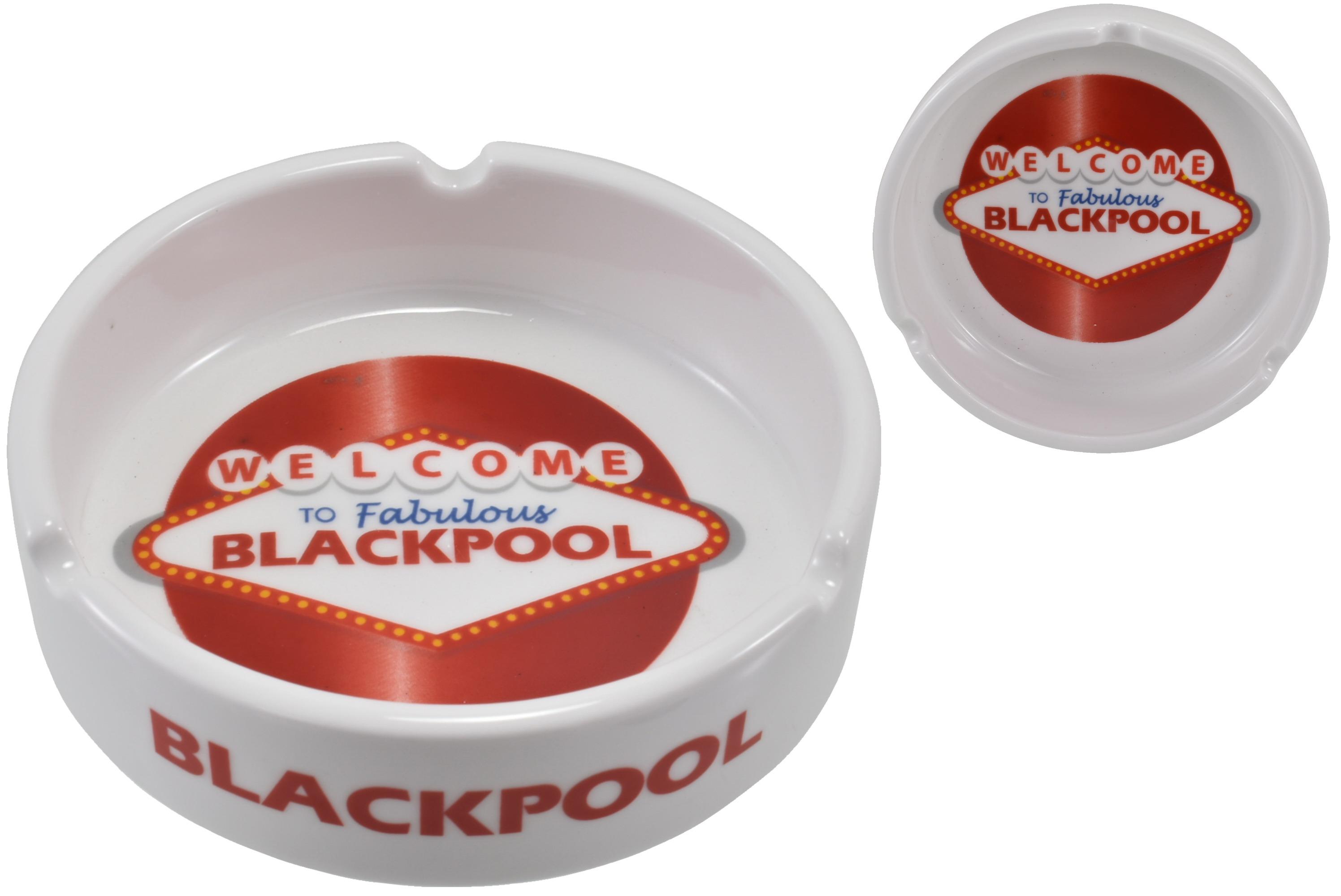 Ceramic Ashtray Blackpool Fabulous 10cm
