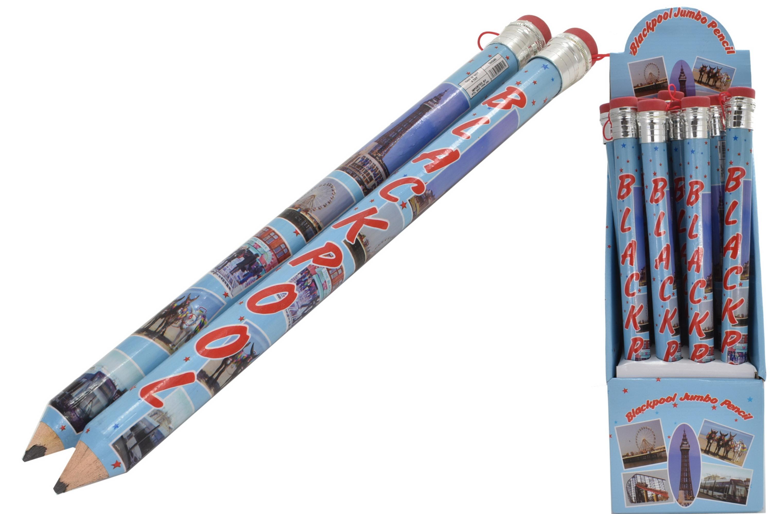Blackpool Jumbo Pencil In Display