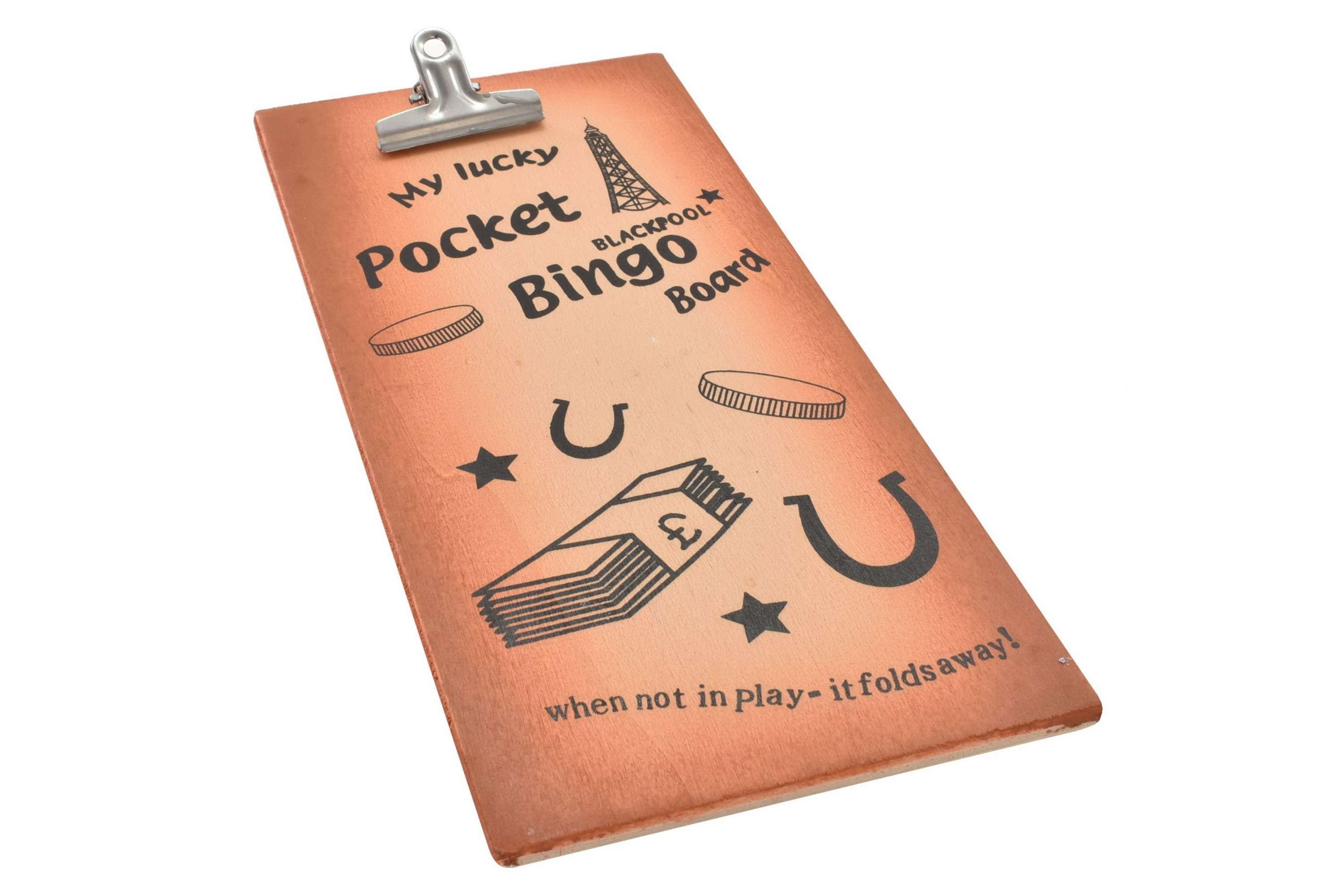 Blackpool Wood Bingo Board