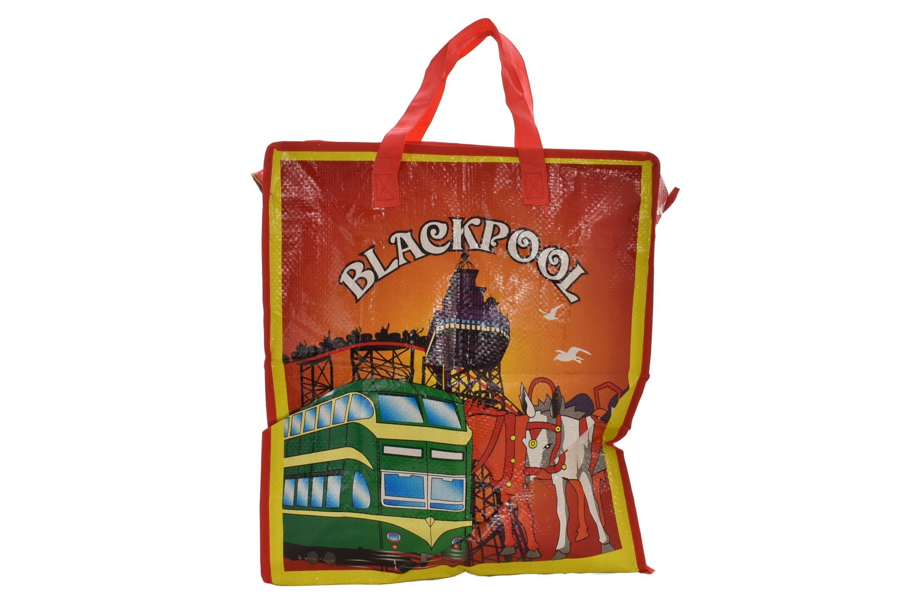 Blackpool Shopping Bag Day Design 41x47cm