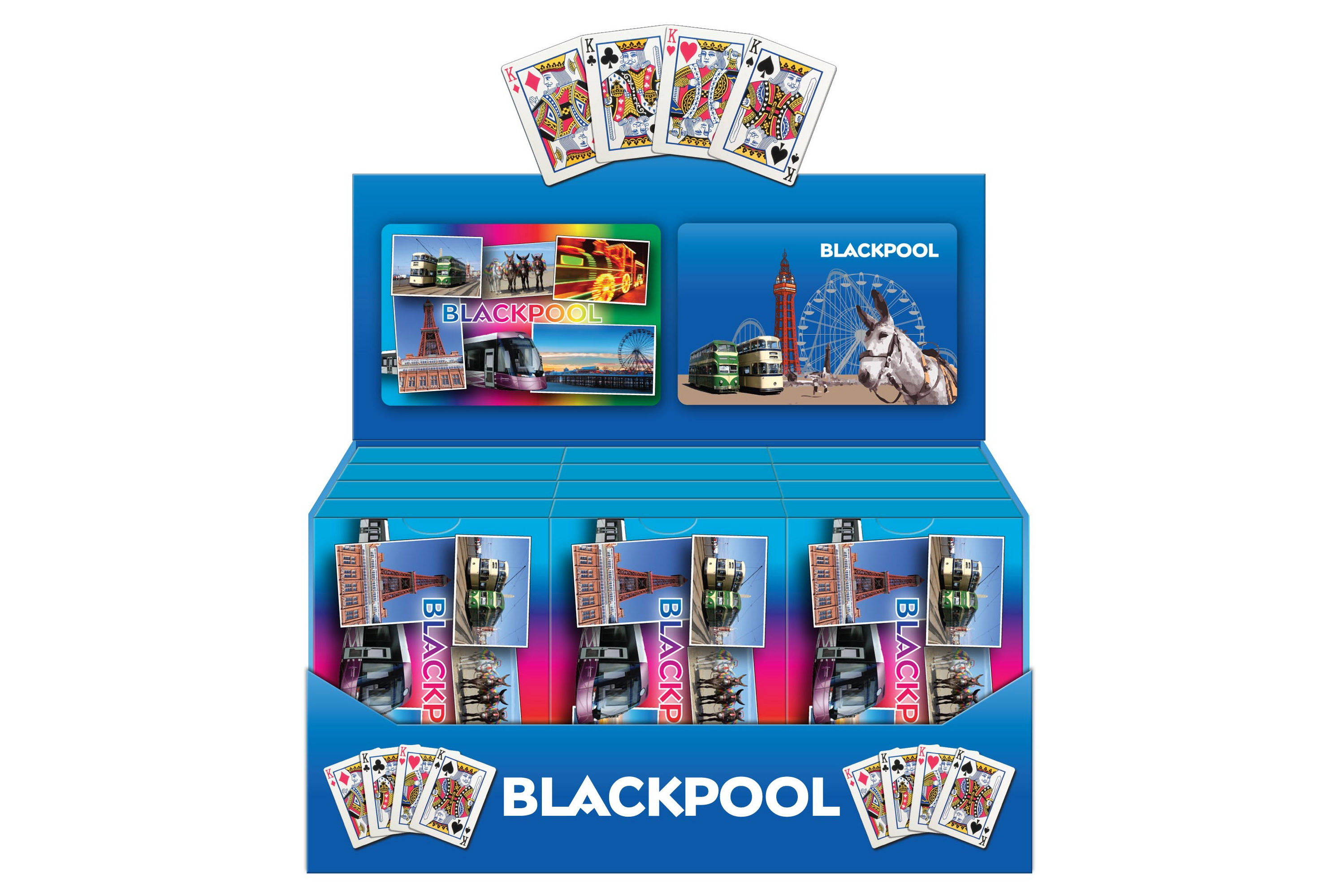 Playing Cards Blackpool Plastic Coated
