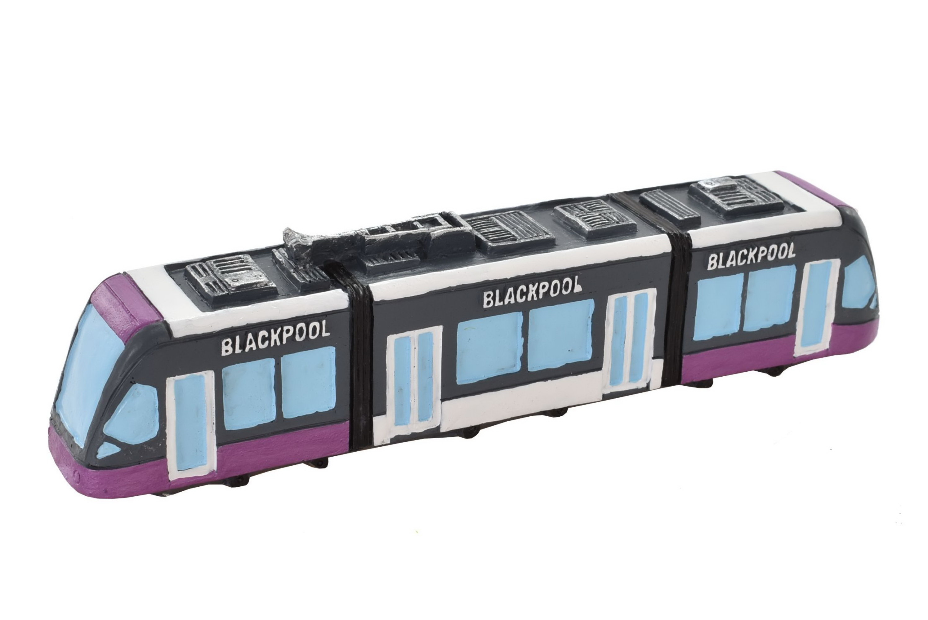 Blackpool Resin Tram New Style 12.5cm