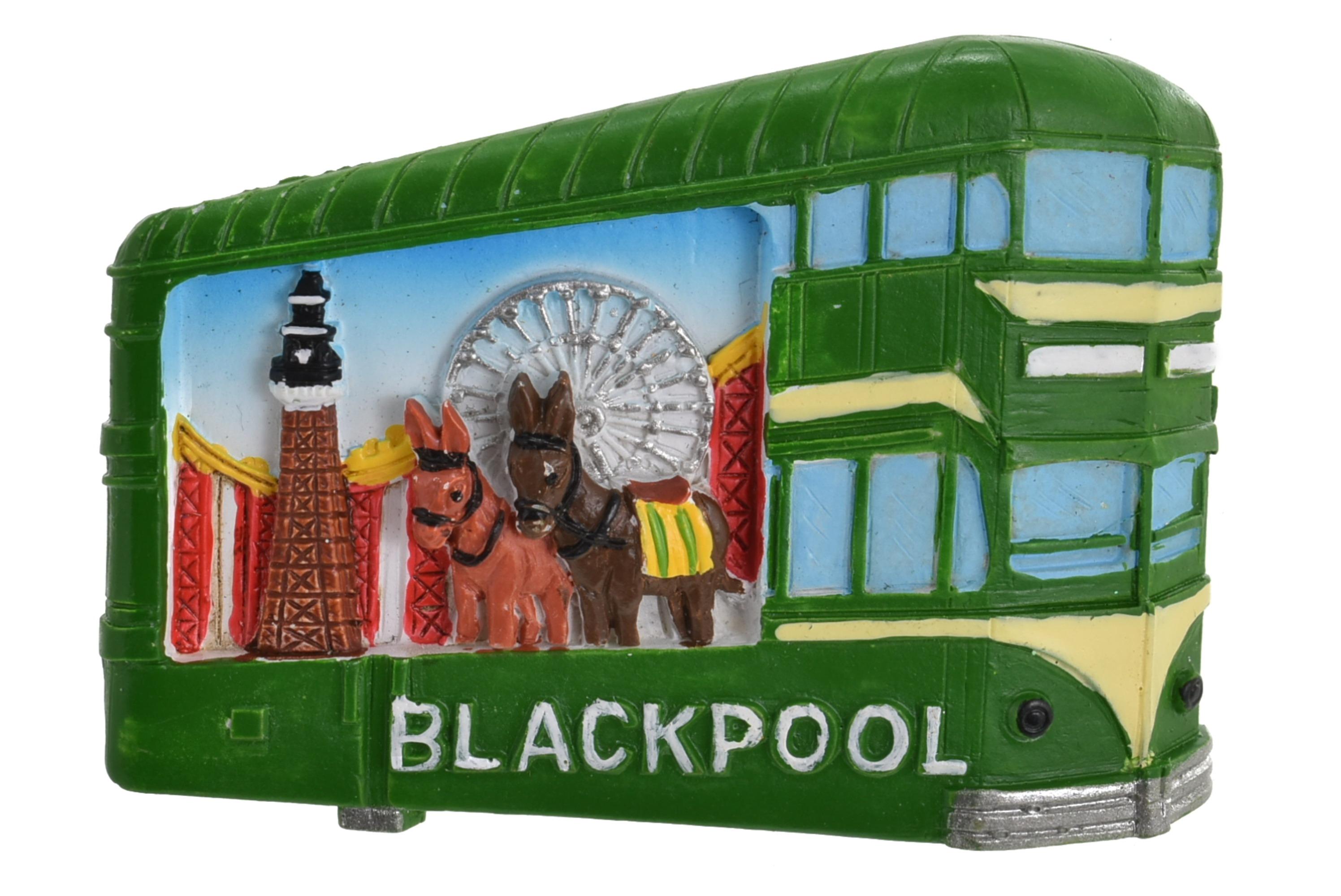 Blackpool Scene In Tram Magnet