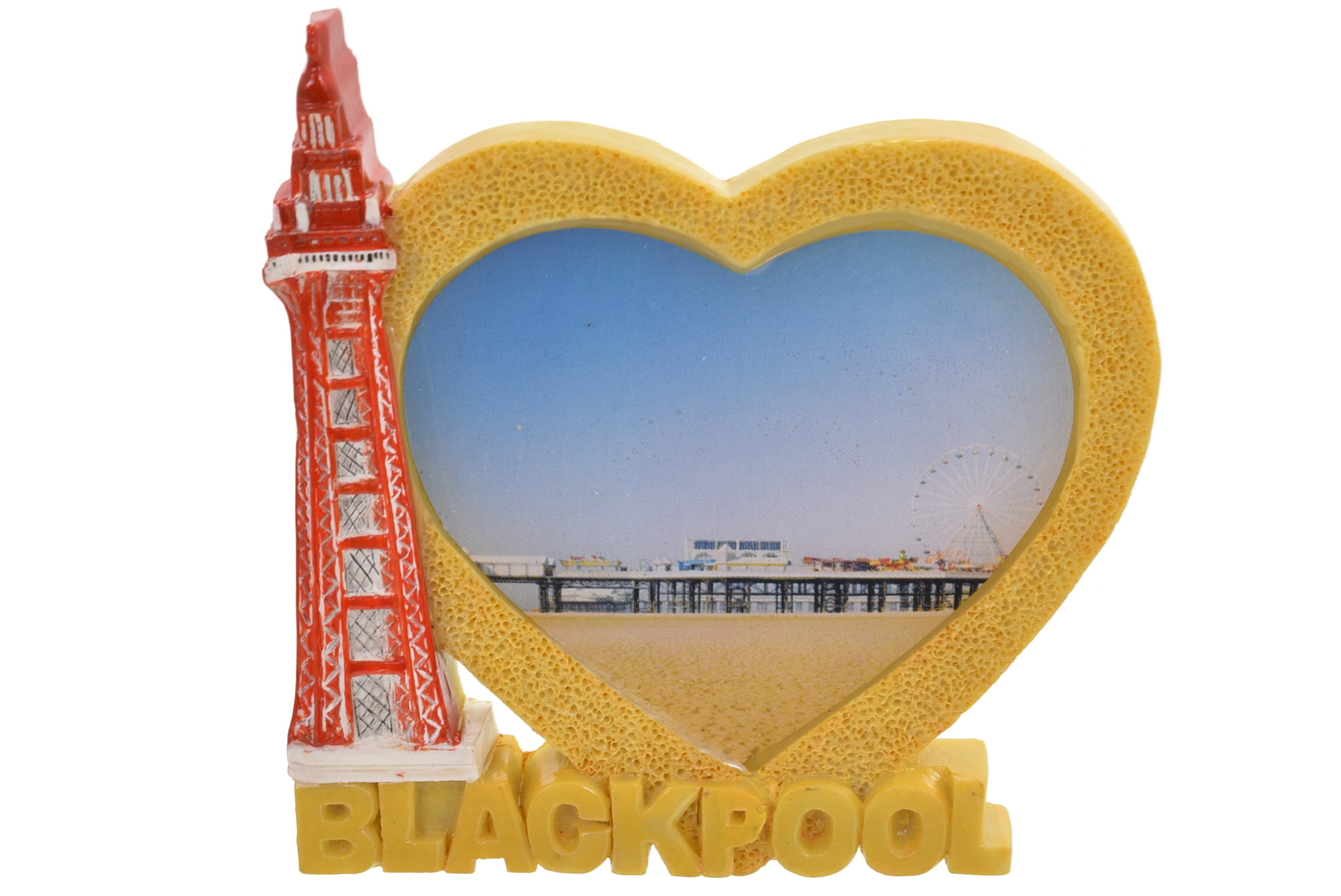 Blackpool Tower Heart Pier Magnet