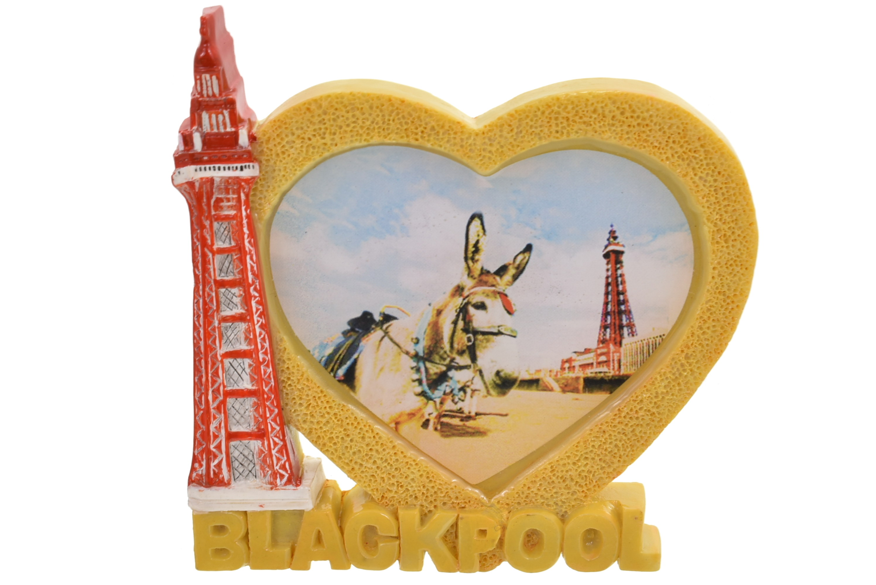 Blackpool Heart Tower Donkey Magnet