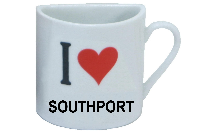 Southport Half Mug Magnet
