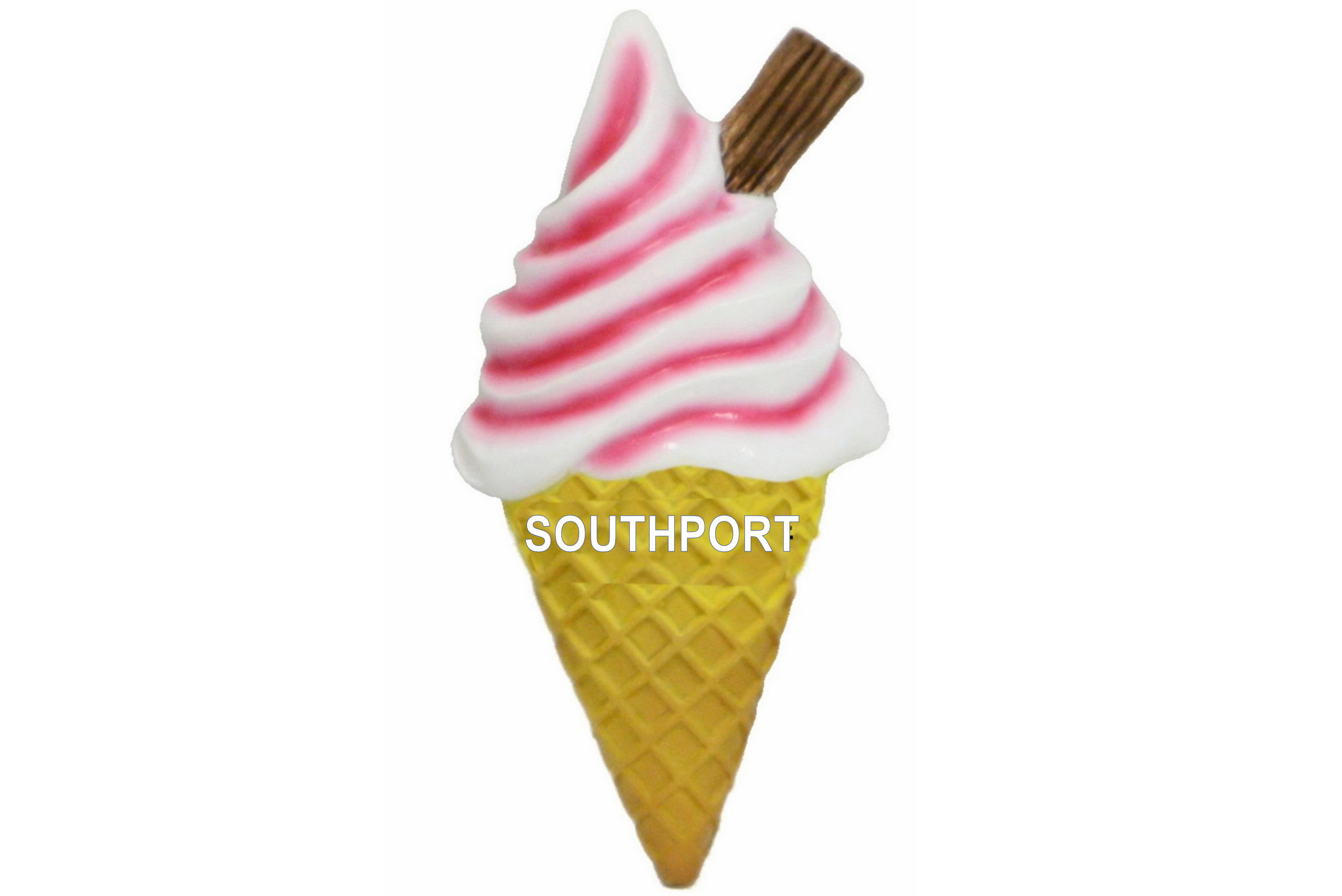Southport Ice Cream Resin Magnet