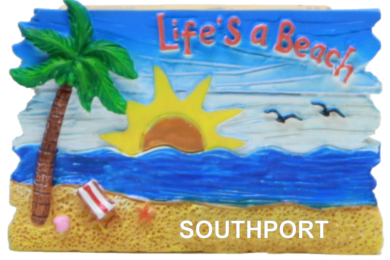 Southport Beach Scene Lifes A Beach Magnet