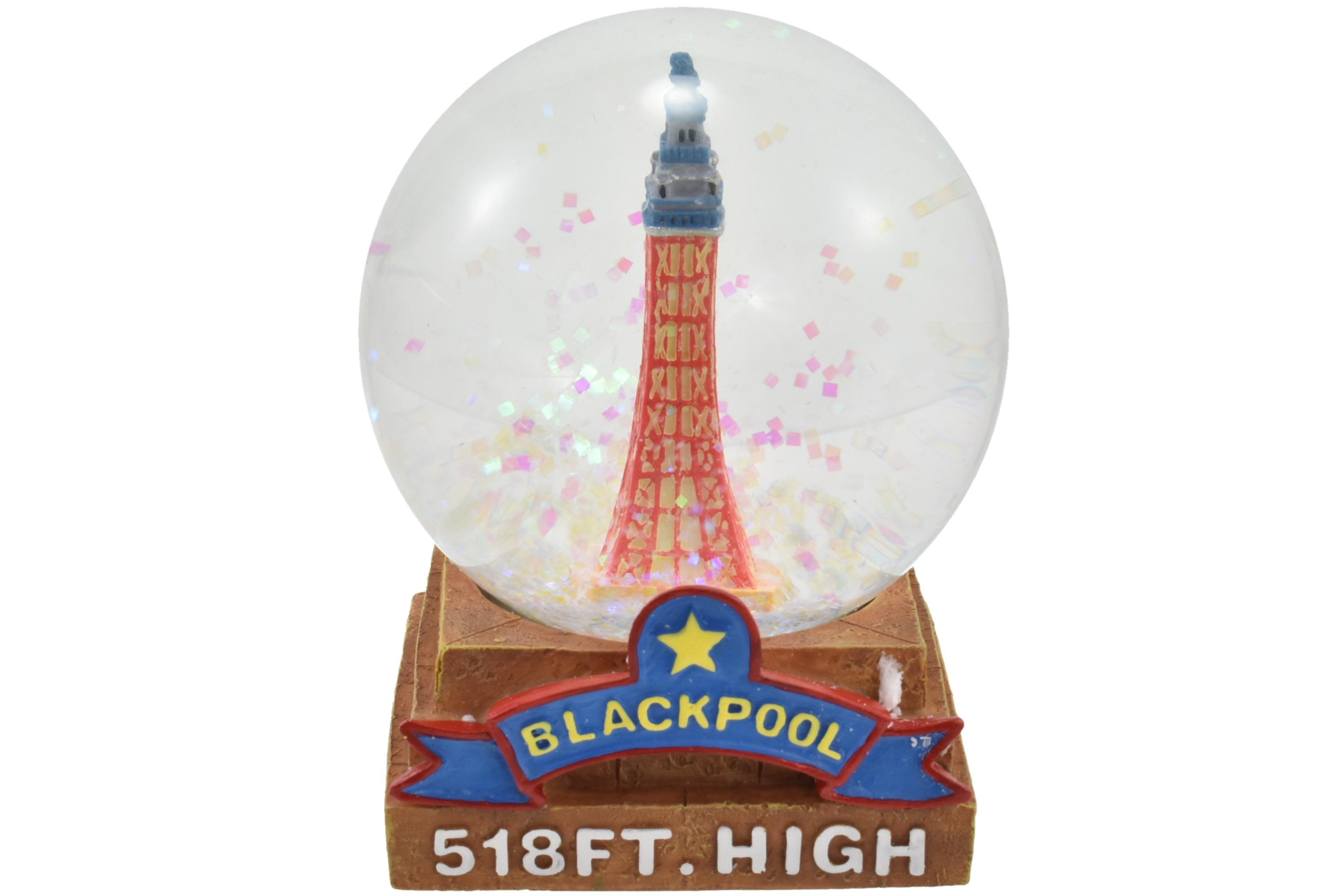 65mm Blackpool Tower Waterball