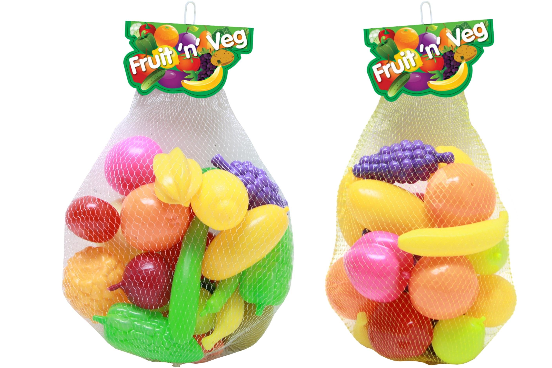 Plastic Fruit & Veg In Net Bag