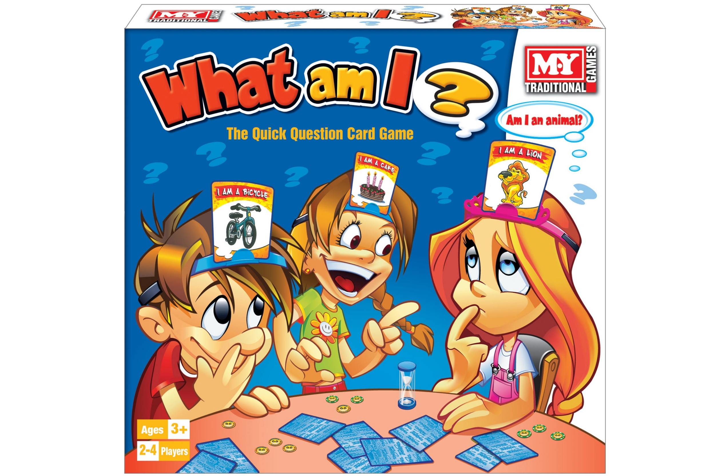 """What Am I Card Game In Colour Box """"M.Y"""""""