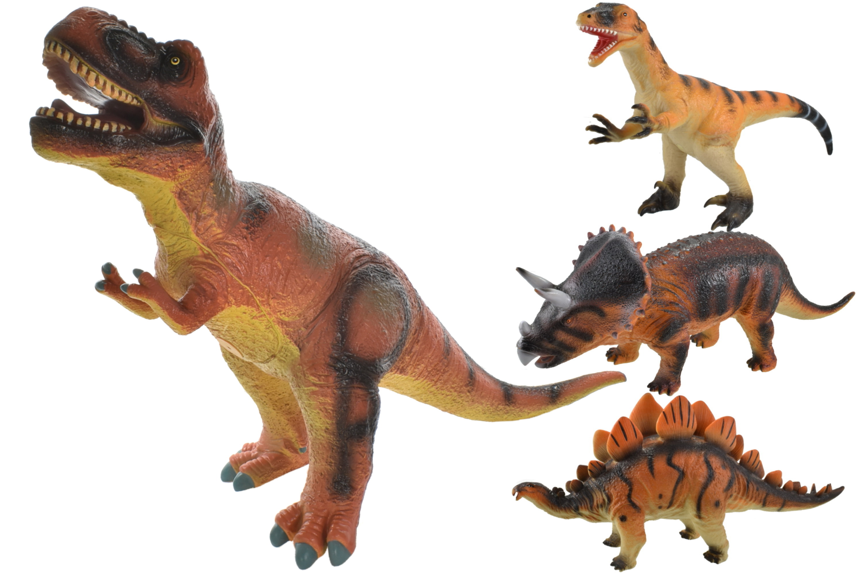 Large Dinosaurs - 4 Assorted
