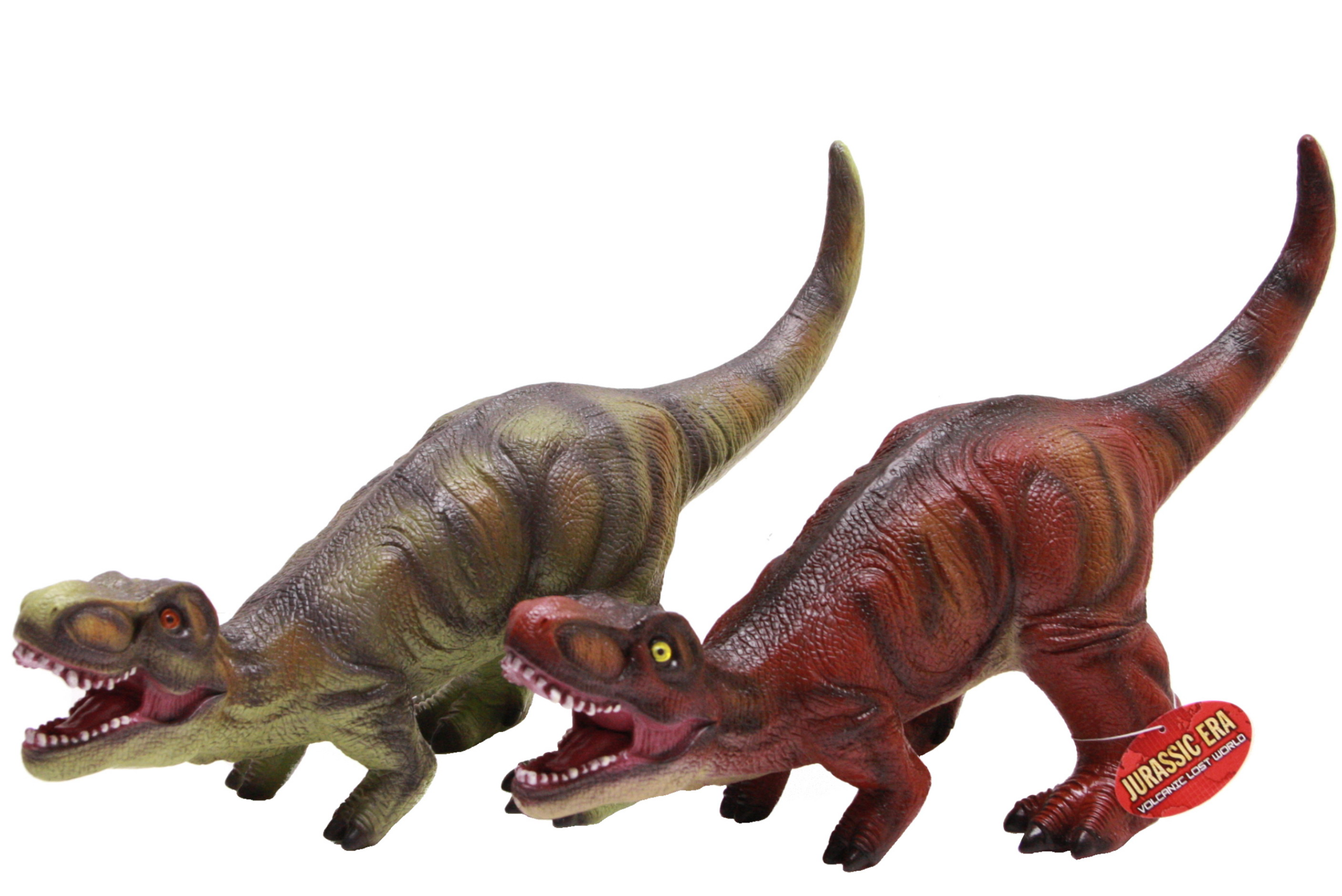 "19"" Pvc T-Rex Dinosaur - 2 Assorted Colours"