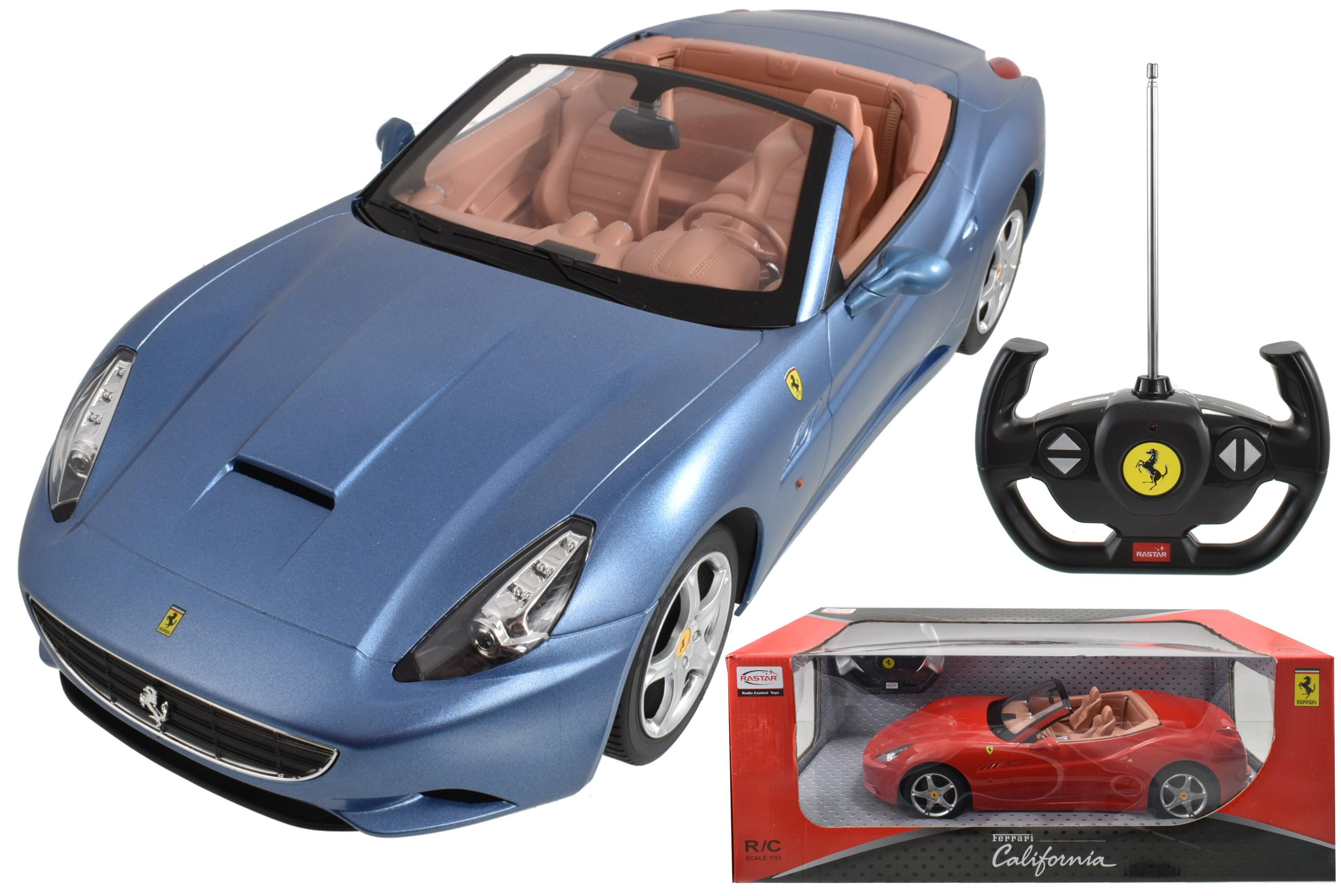 R/C Ferrari California 1:12sc (3 Assorted) In Window Bx