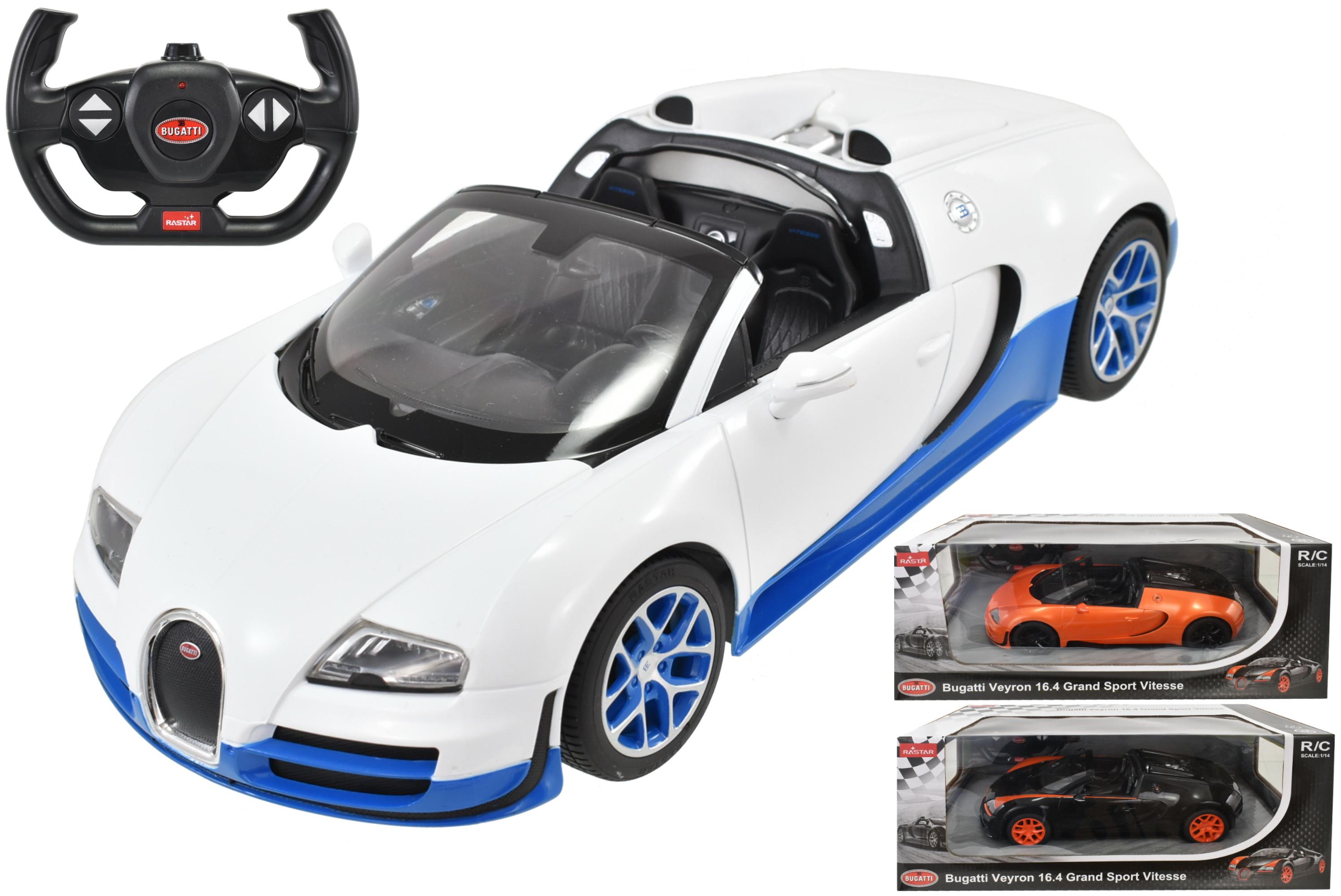 R/C Bugatti Grand Sport Vitesse 1:14sc In Window Box