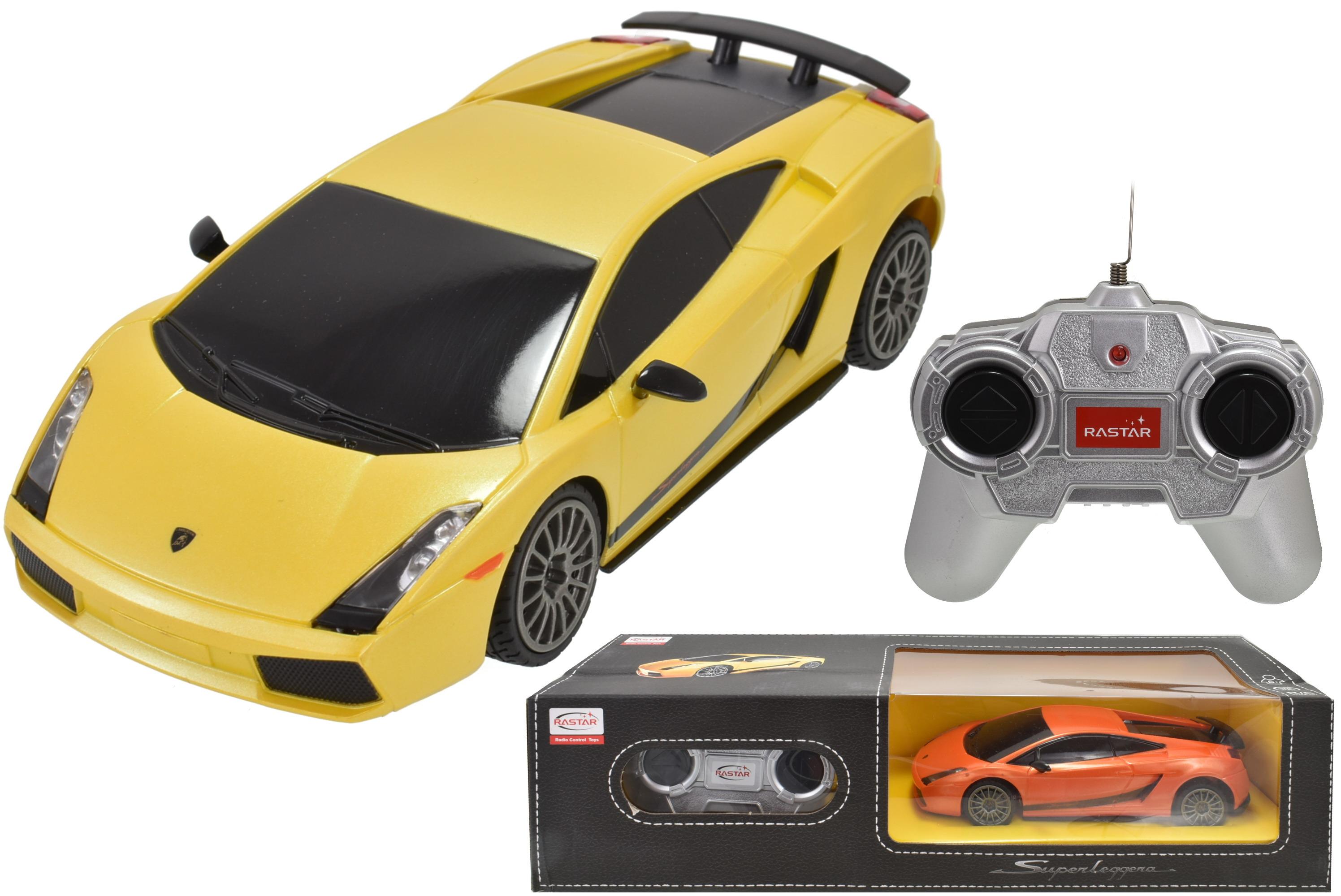 R/C Lamborghini 1:24sc In Window Box