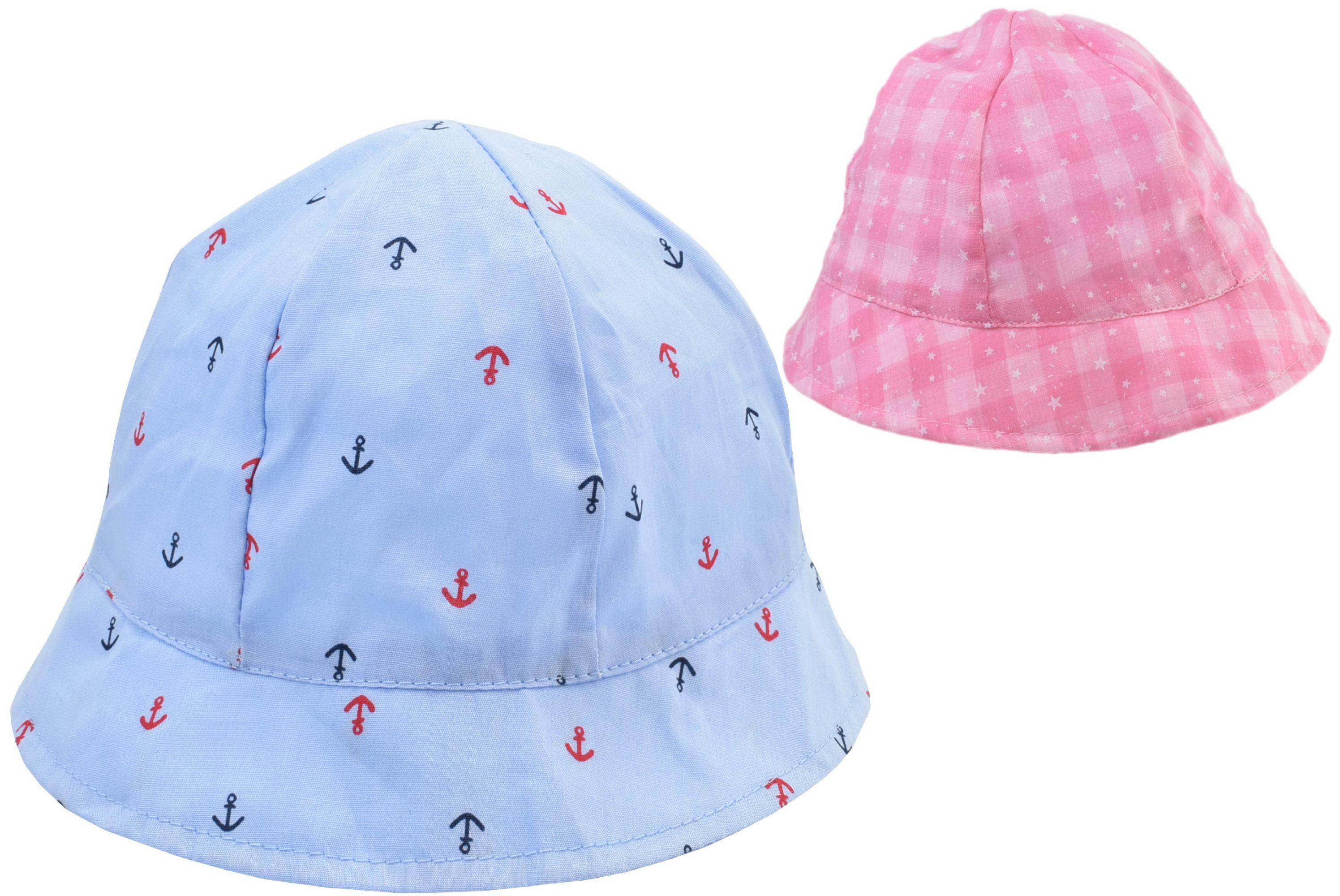 Kids Bucket Hat 50cm 2 Assorted Designs