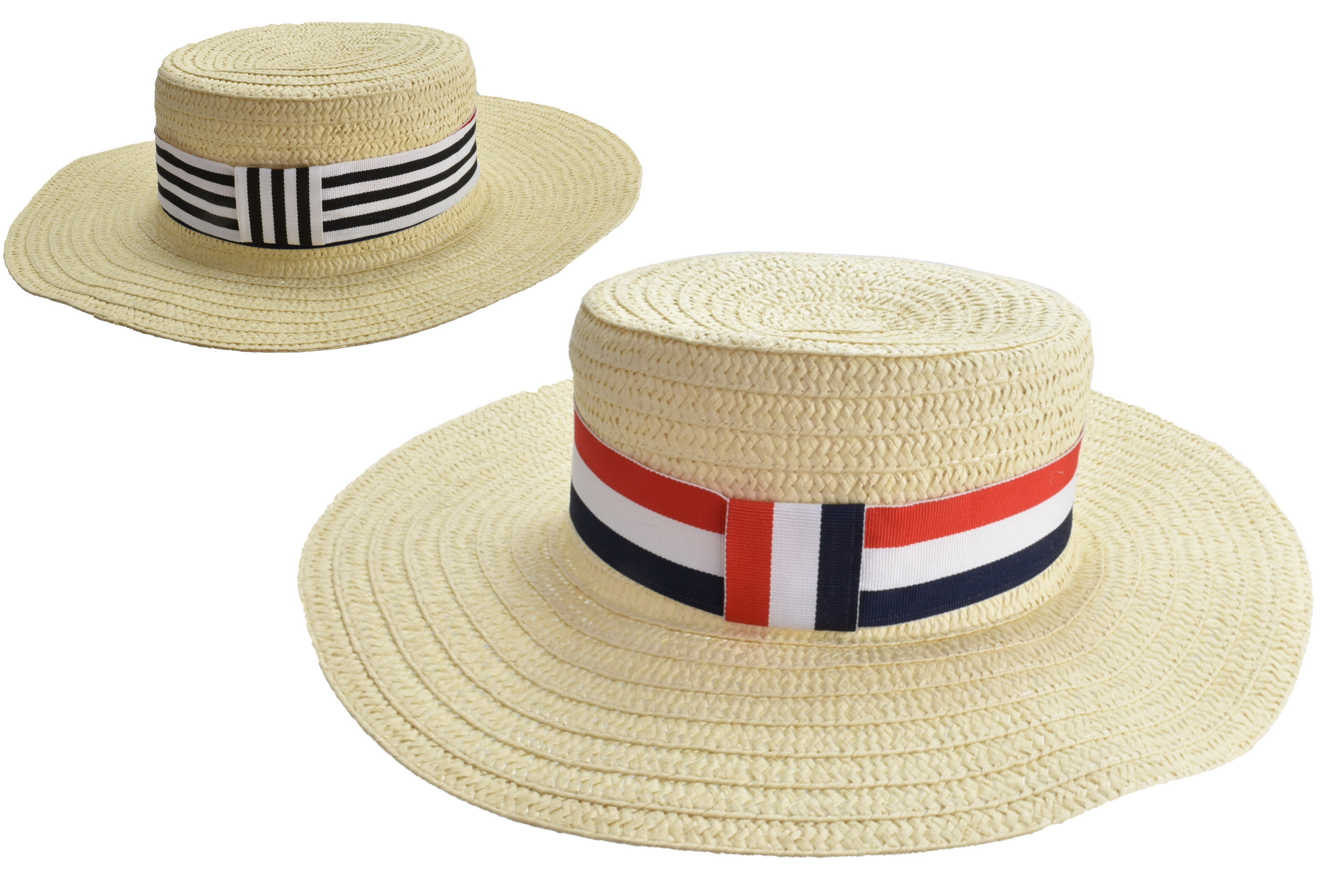 Adults Woven Wide Brim Hat 58cm 2 Assorted Colours