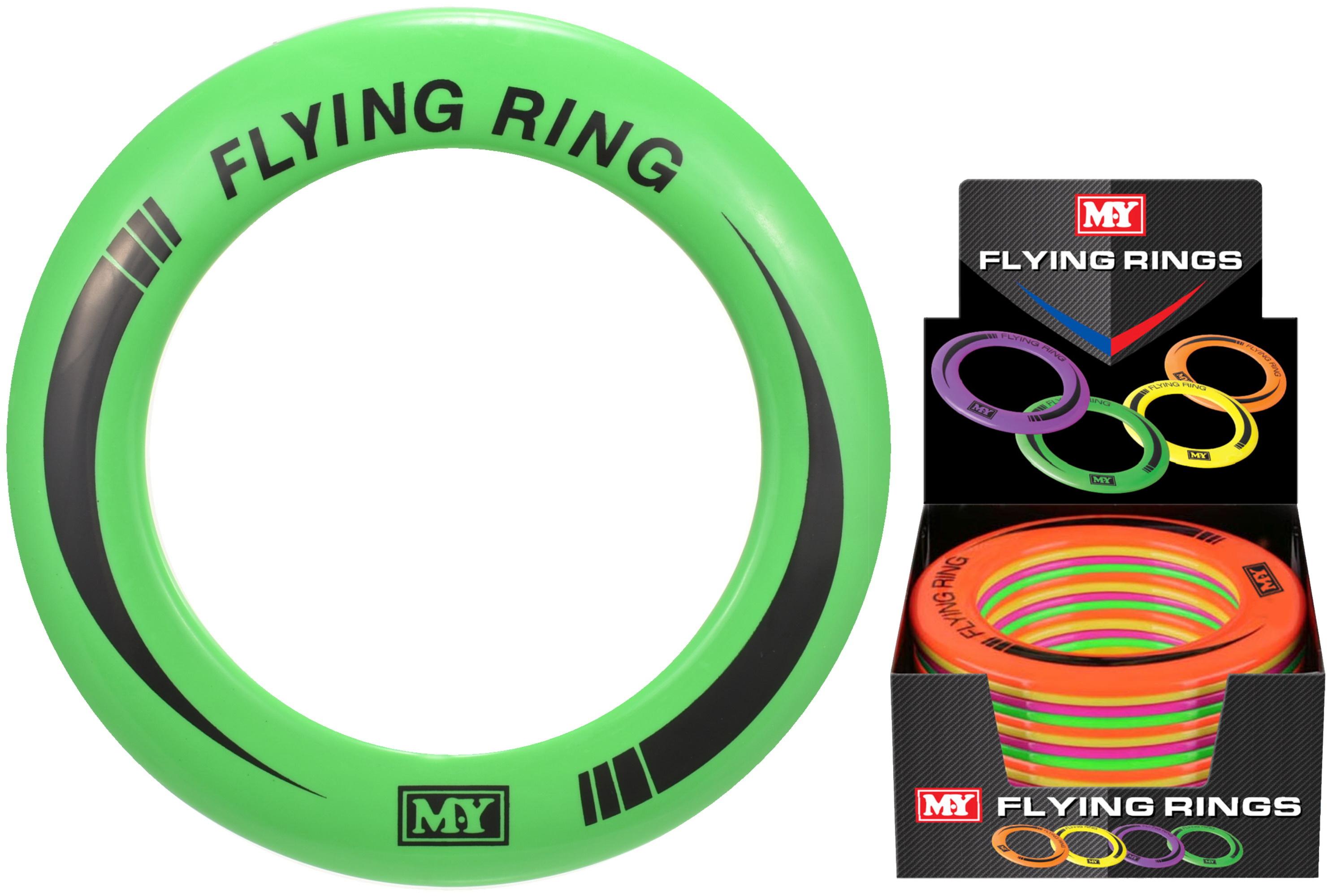 "Flying Rings (4 Assorted) In Display Box ""M.Y"""