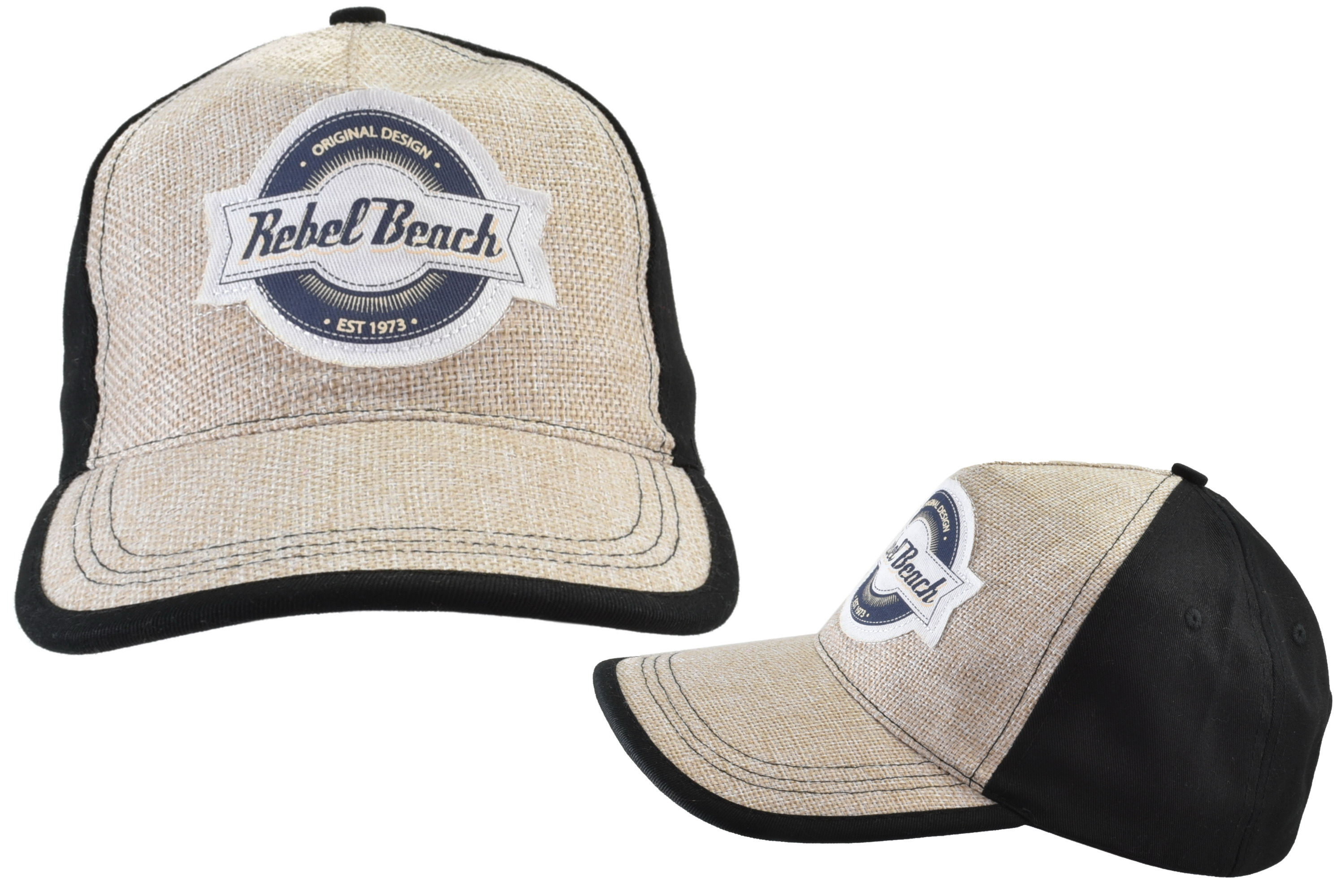 Woven Baseball Cap 58cm Rebel Beach
