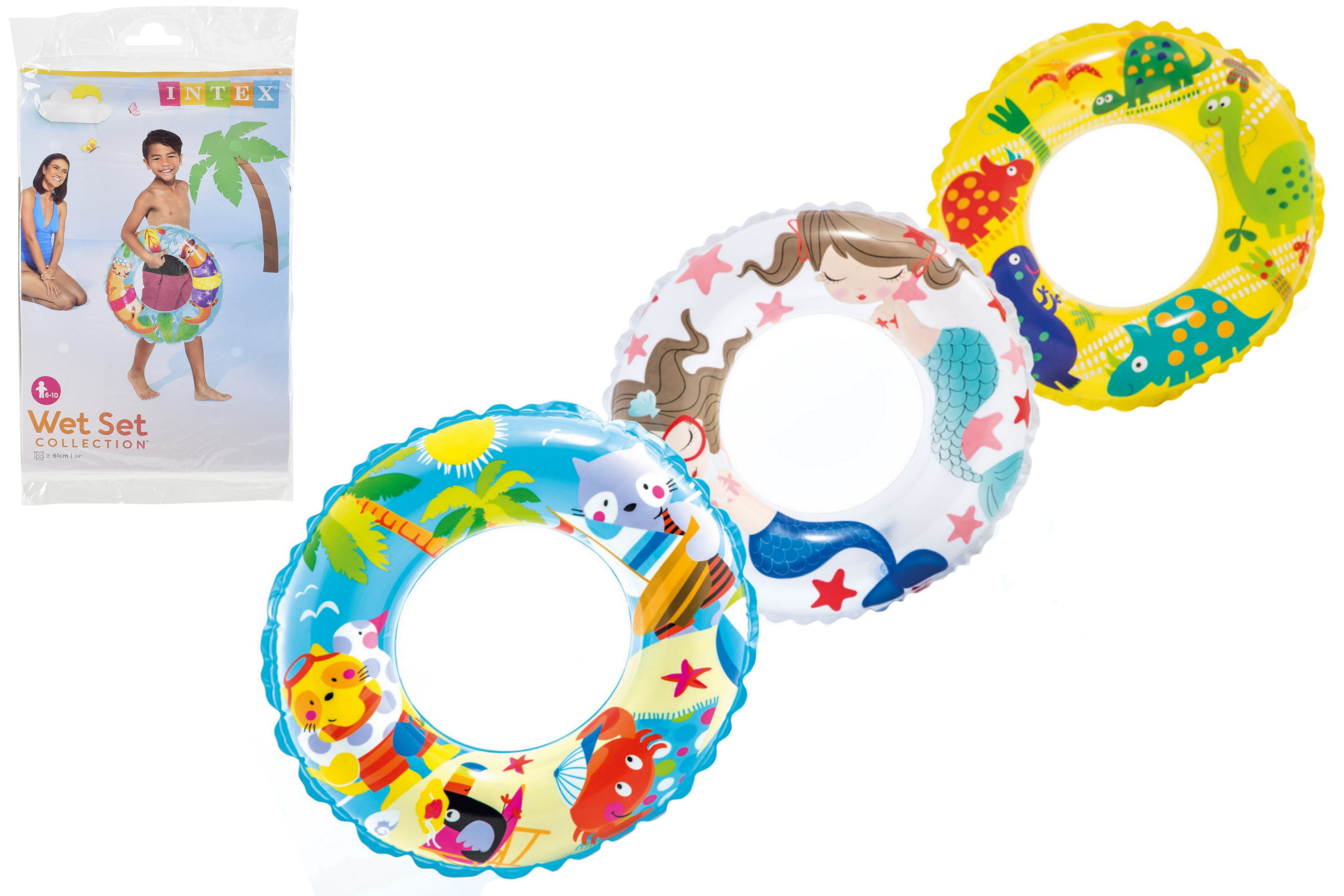 "24"" Transparent Printed Ring Ages 6-10 Yrs (3 Asst)"