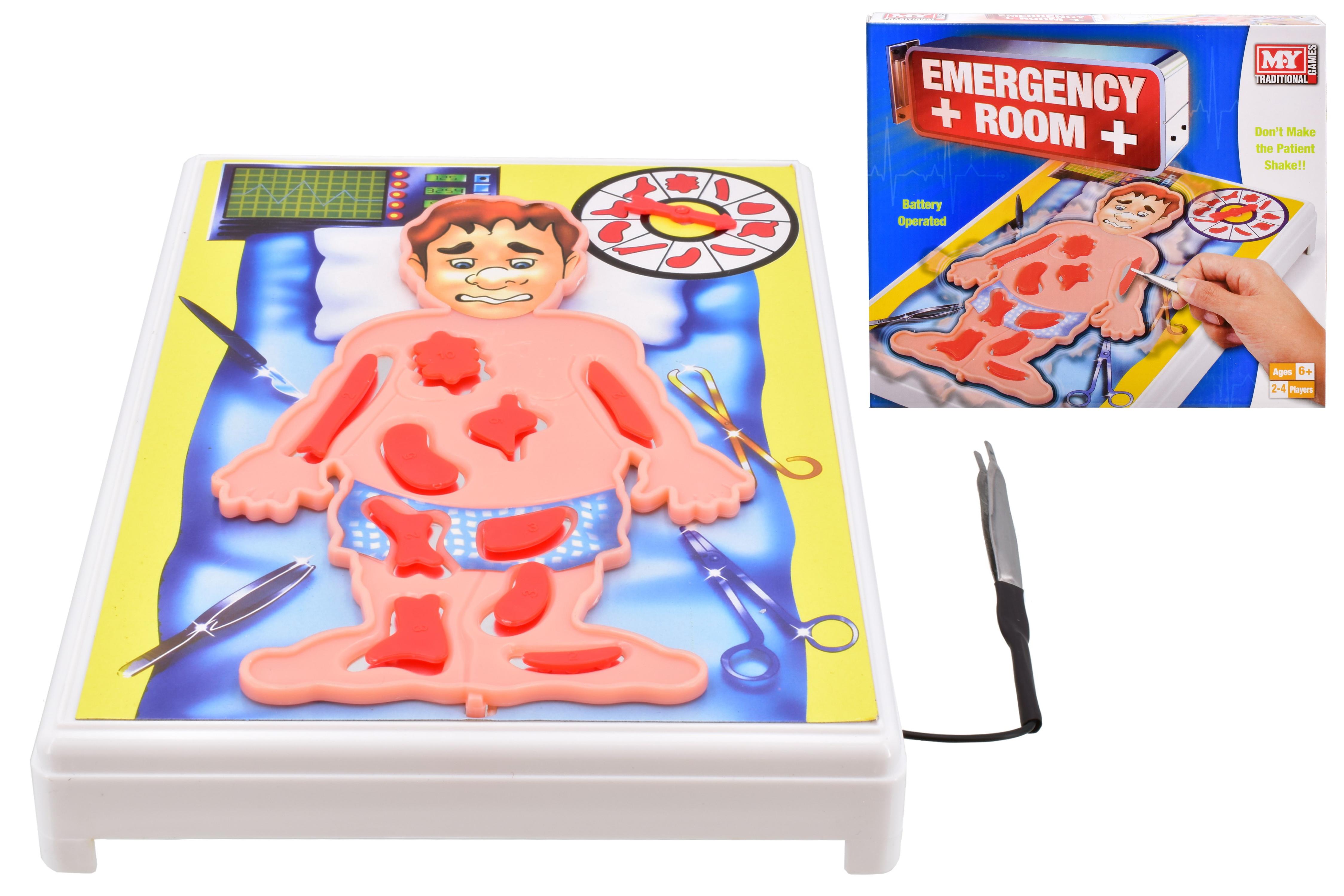 "Emergency Room Game B/O In Printed Box ""M.Y"""